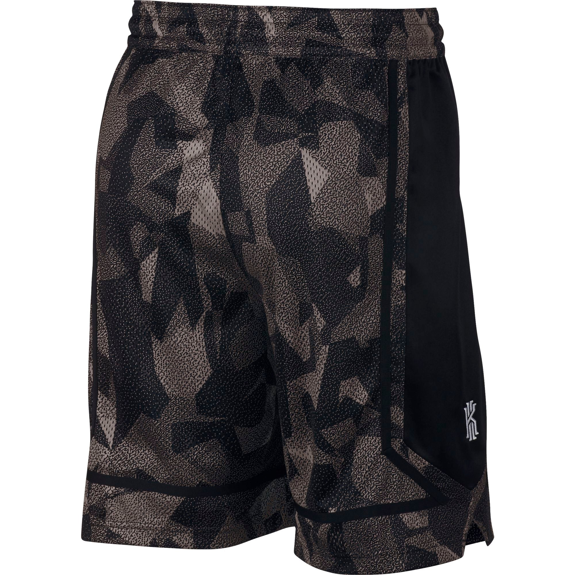 Nike Kyrie Elite Graphic Basketball Shorts - Light Orewood Brown/Black/White
