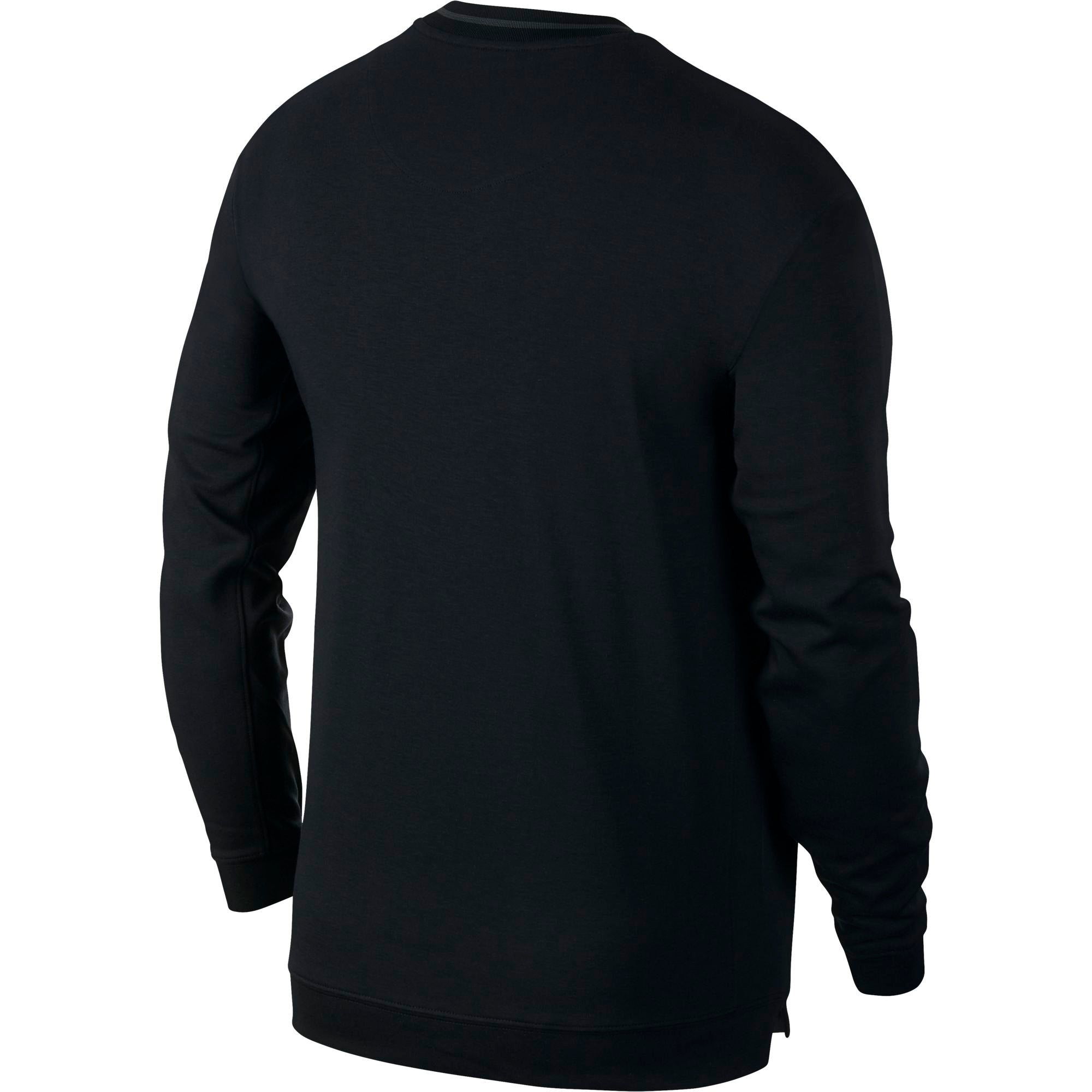Nike Basketball Dry Fit Long Sleeved Top - Black/Anthracite