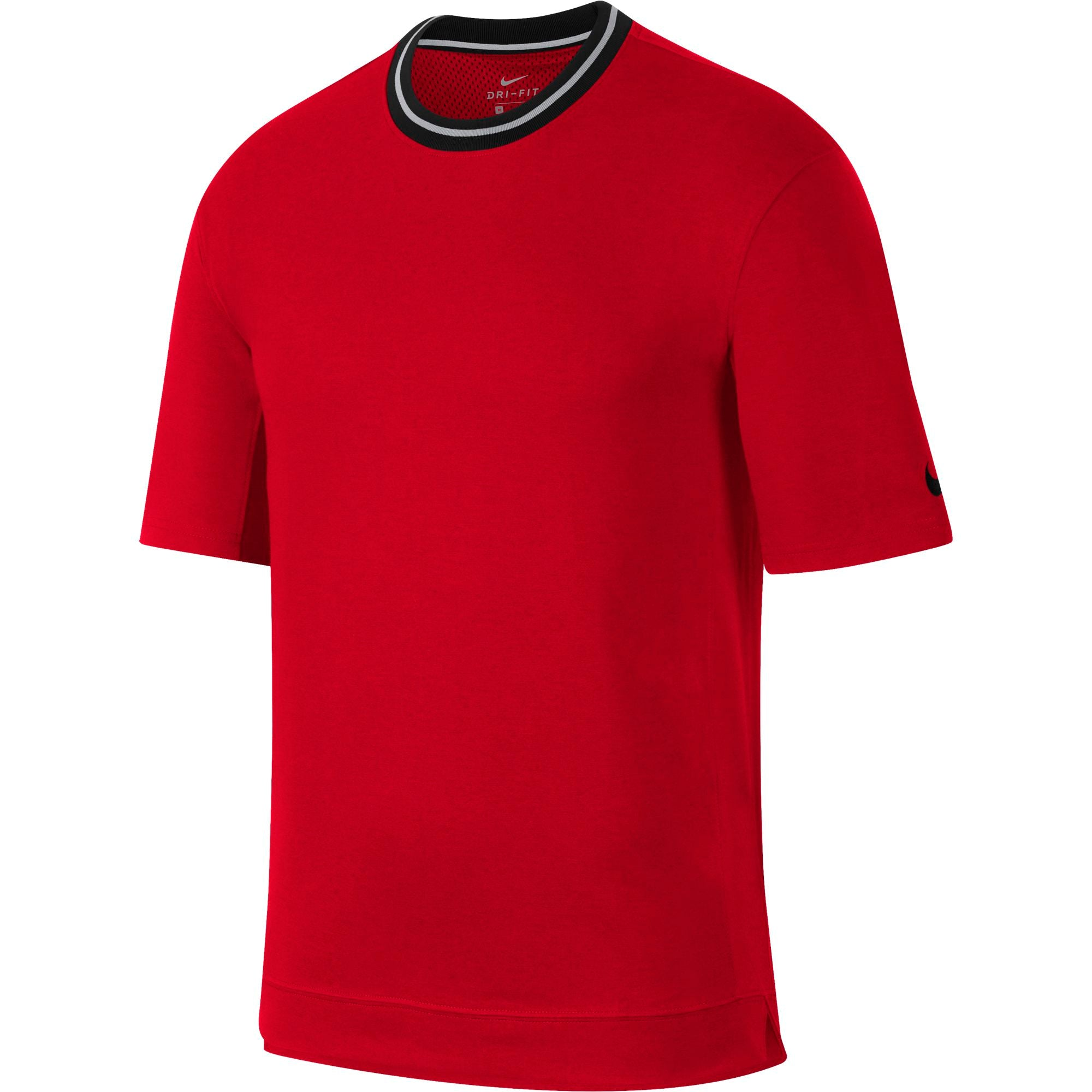Nike Basketball Dry Fit Short Sleeved Top - NK-AJ3538-657