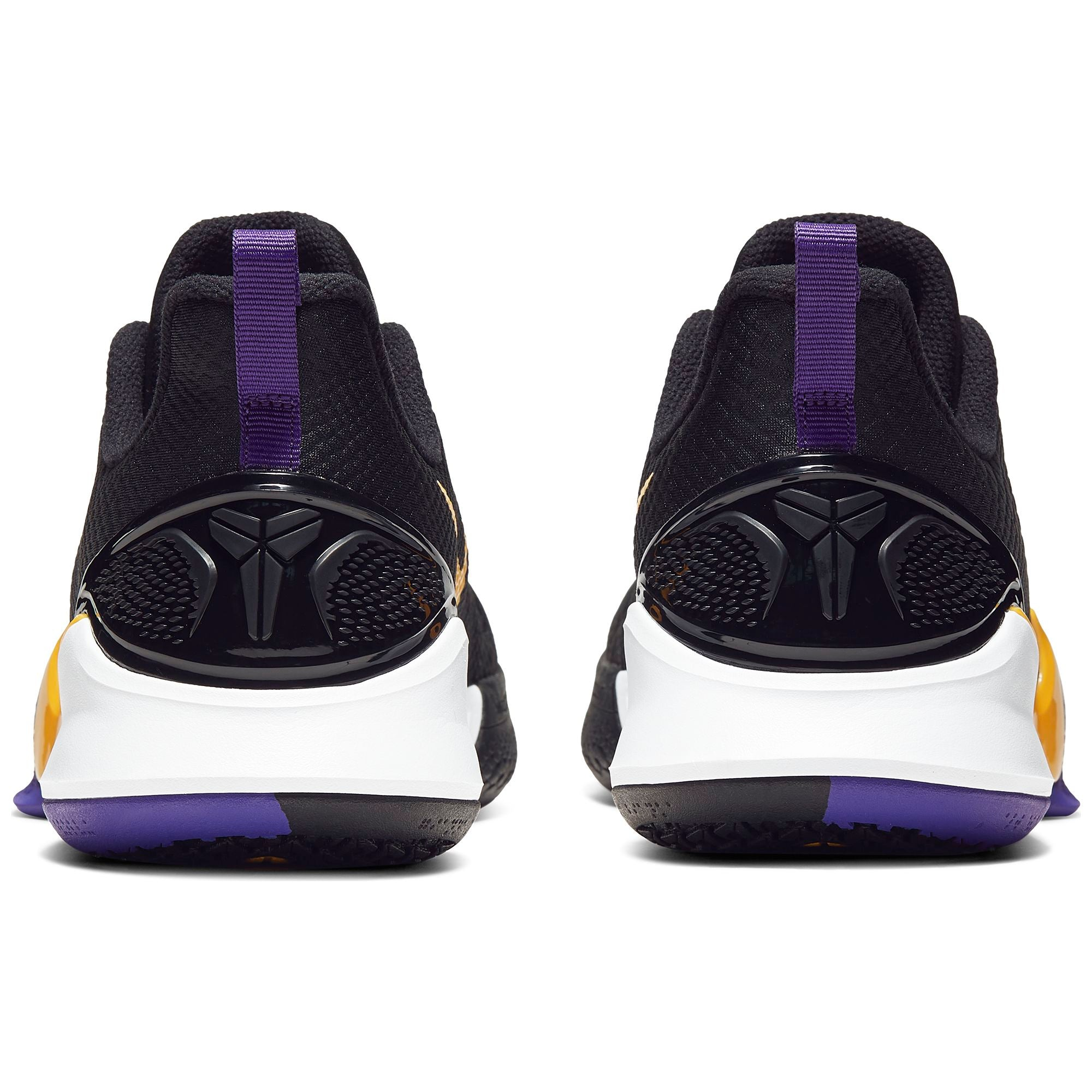 Nike Kobe Mamba Focus Low Basketball Shoe - Black/Amarillo/Field Purple/White