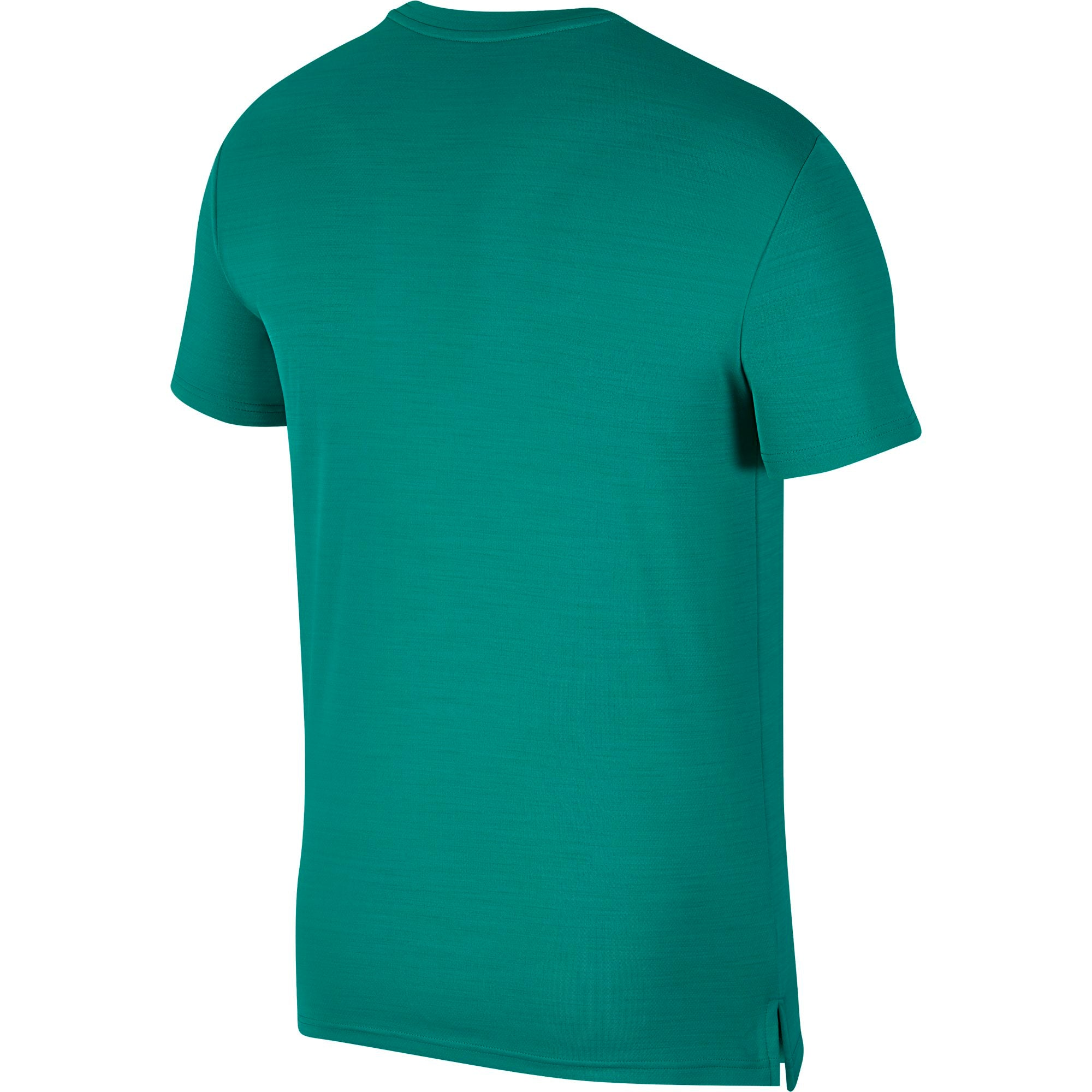 Nike Training Superset Short Sleeved Top (Tall Fit) - Neptune Green/Black