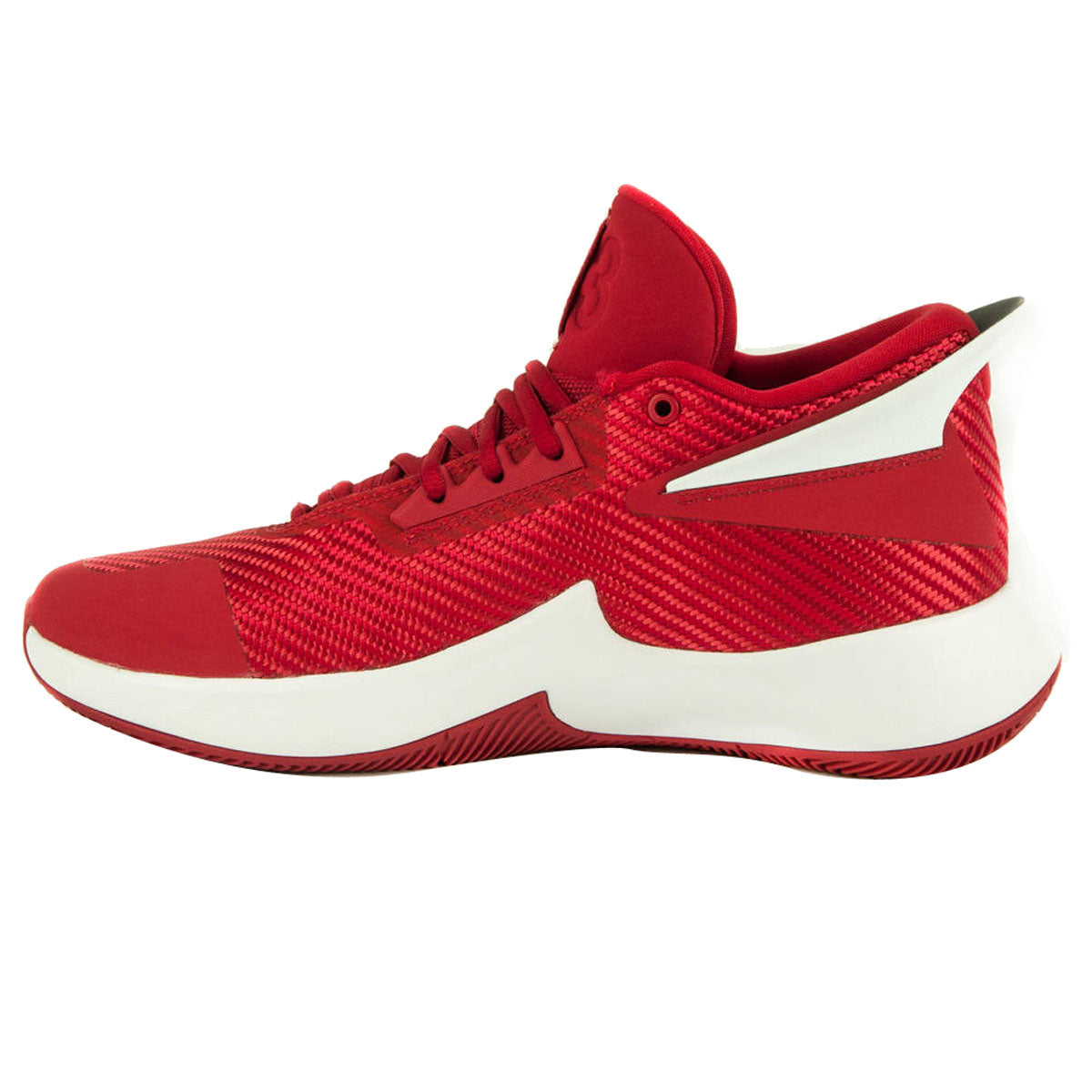 Nike Jordan Fly Lockdown Basketball Boot/Shoe - Gym Red/Black/White