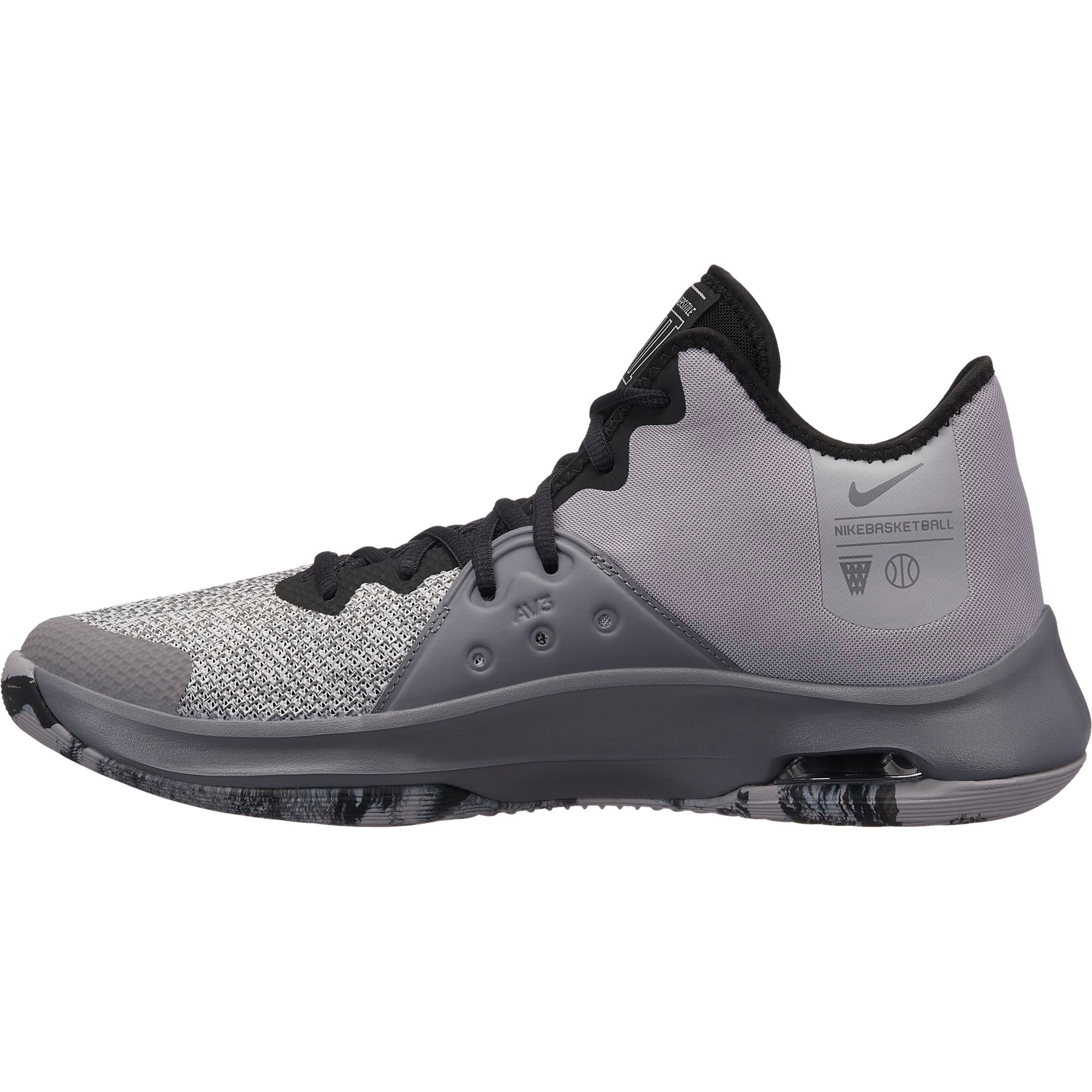 Nike Basketball Air Versitile III Boot/Shoe - Atmosphere Grey/Black/Gunsmoke/Vast Grey