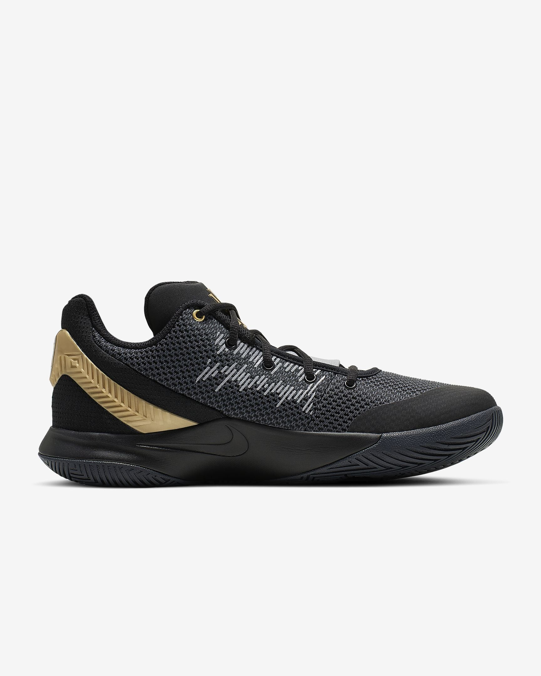 Nike Kyrie Flytrap II  Basketball Boot/Shoe - Black/Metallic Gold/Anthracite