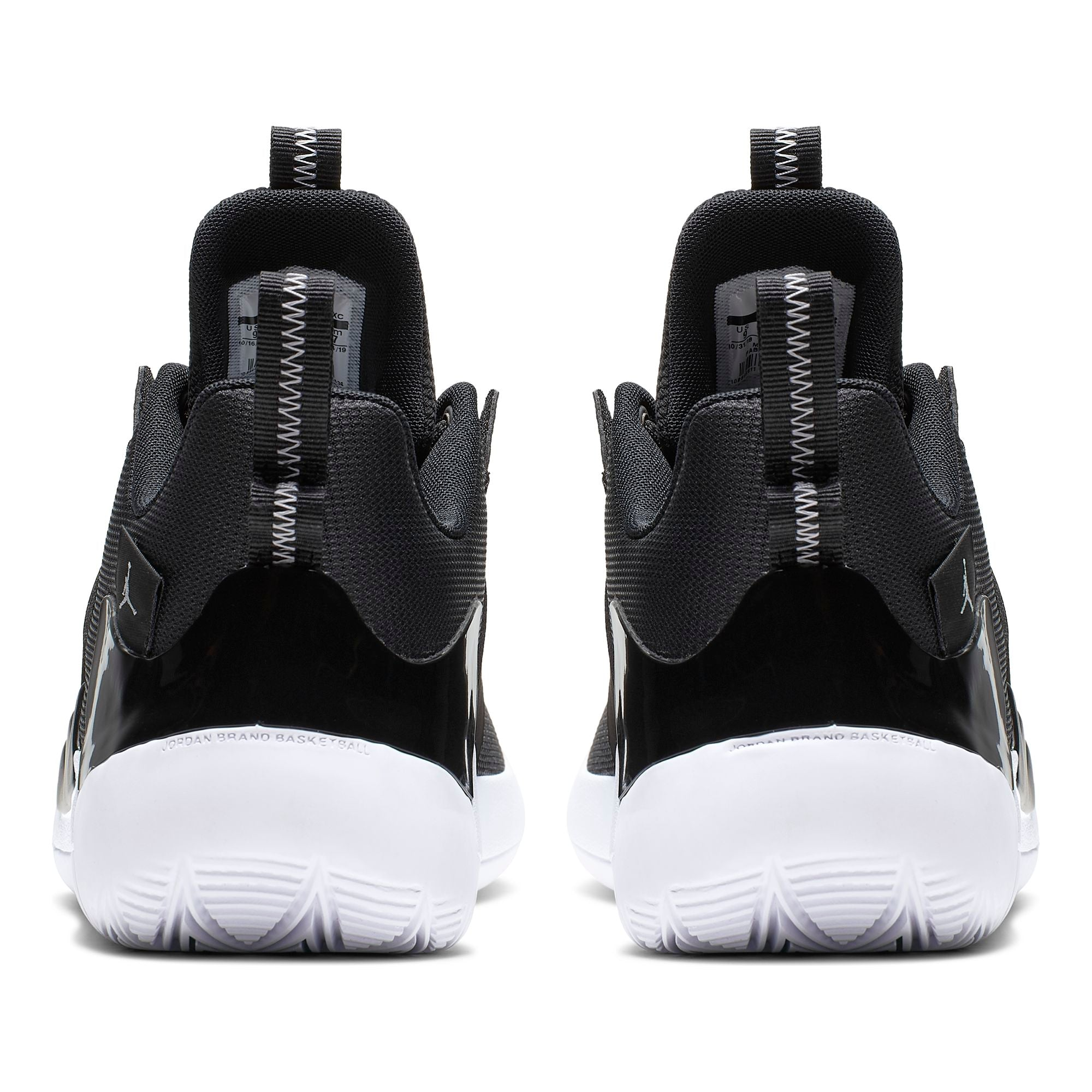 Nike Jordan Zoom Zero Gravity Basketball Boot/Shoe - Black/White
