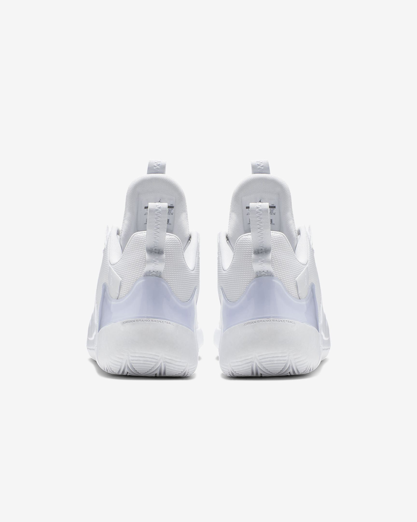 Nike Jordan Zoom Zero Gravity Basketball Boot/Shoe - White/Pure Platinum