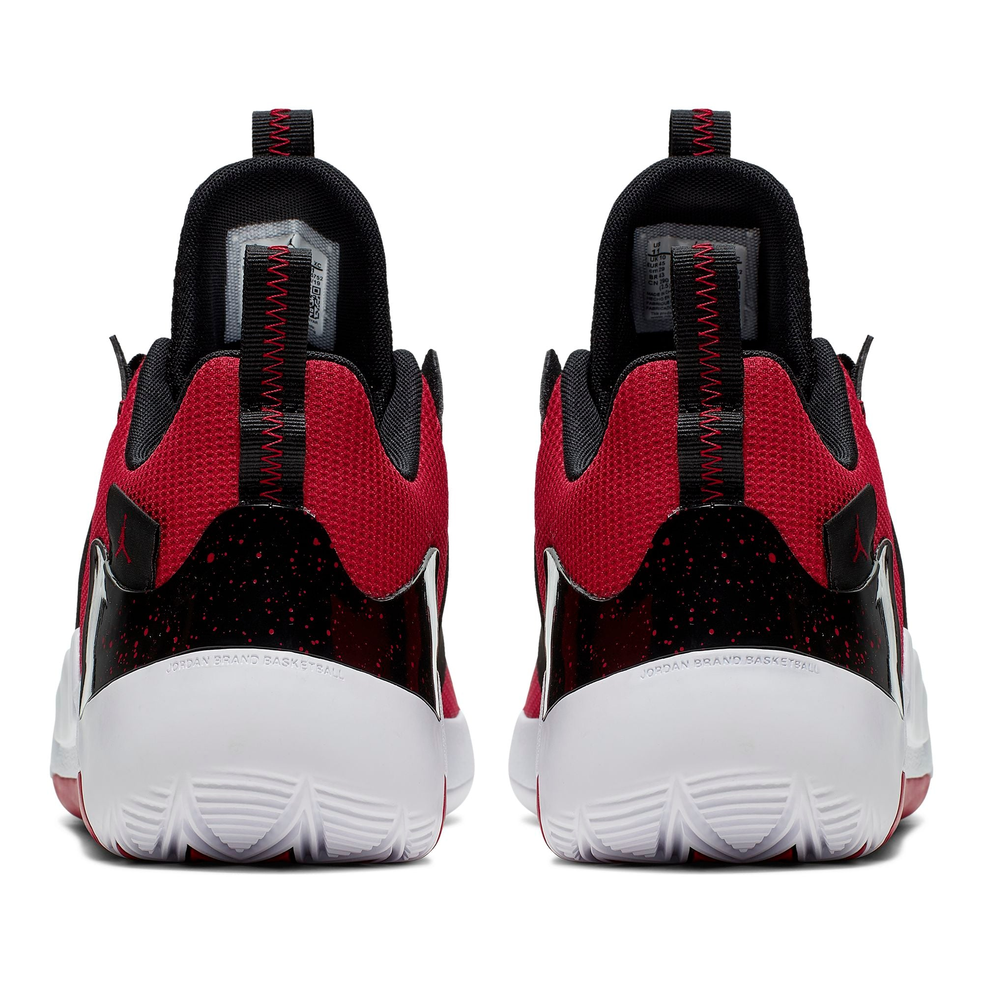 Nike Jordan Zoom Zero Gravity Basketball Boot/Shoe - Gym Red/Black
