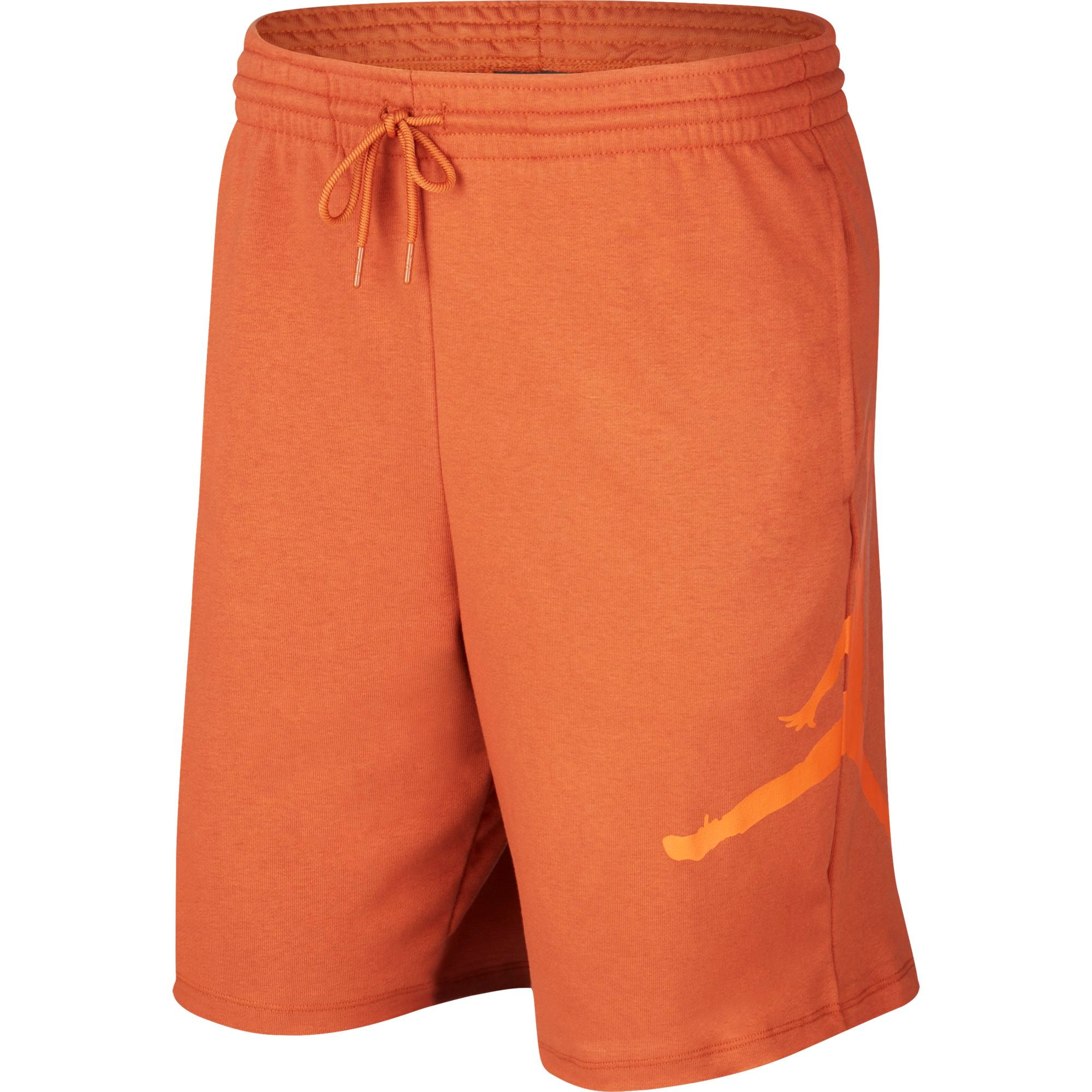 Nike Jordan Basketball Jumpman Logo Fleece Shorts - NK-AQ3115-246