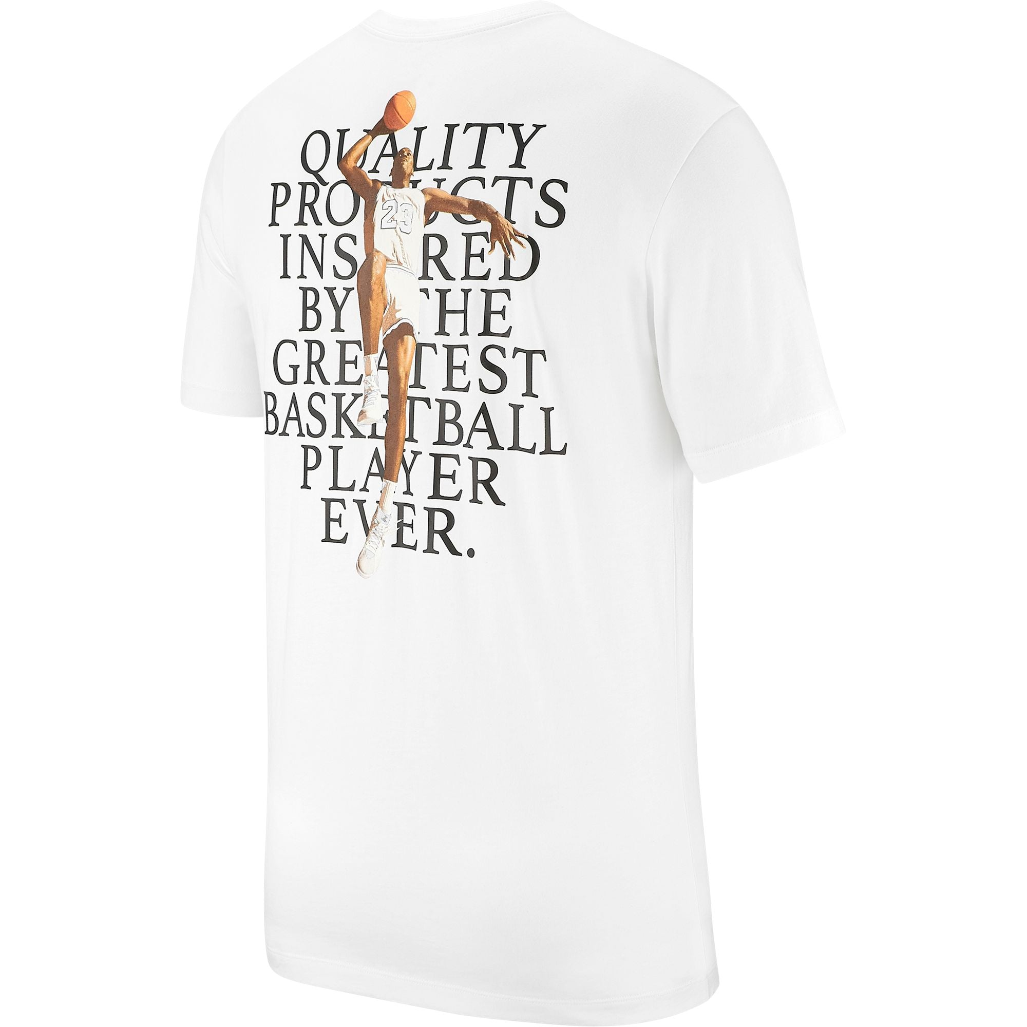 Nike Jordan Photo Graphic Basketball Tee - White/Black