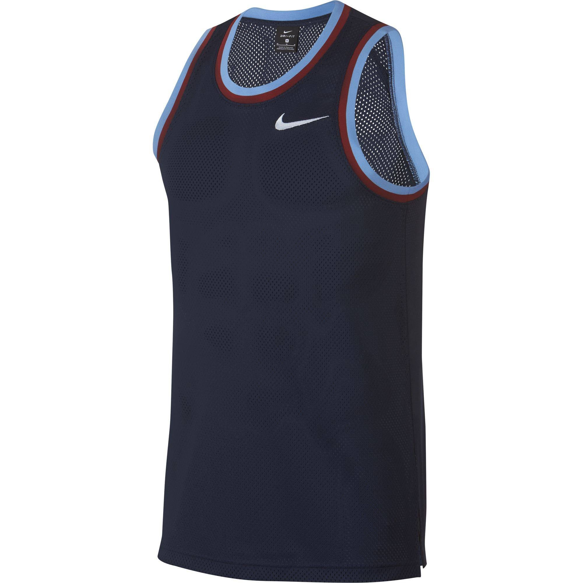 Nike Basketball Dri-fit Classic Jersey - College Navy/White