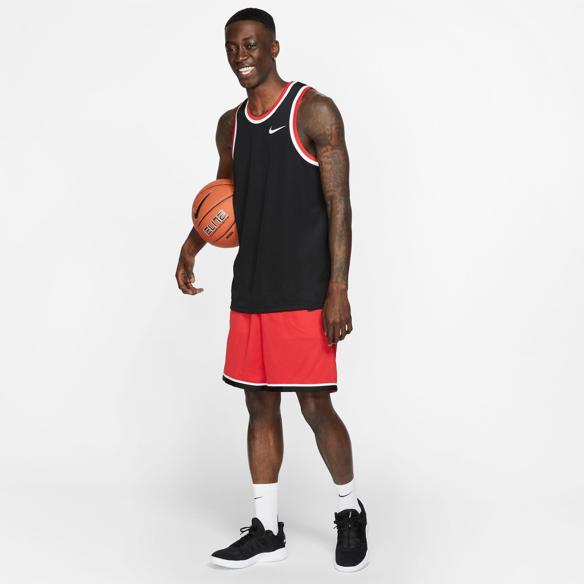 Nike Basketball Dri-fit Classic Shorts - University Red/Black