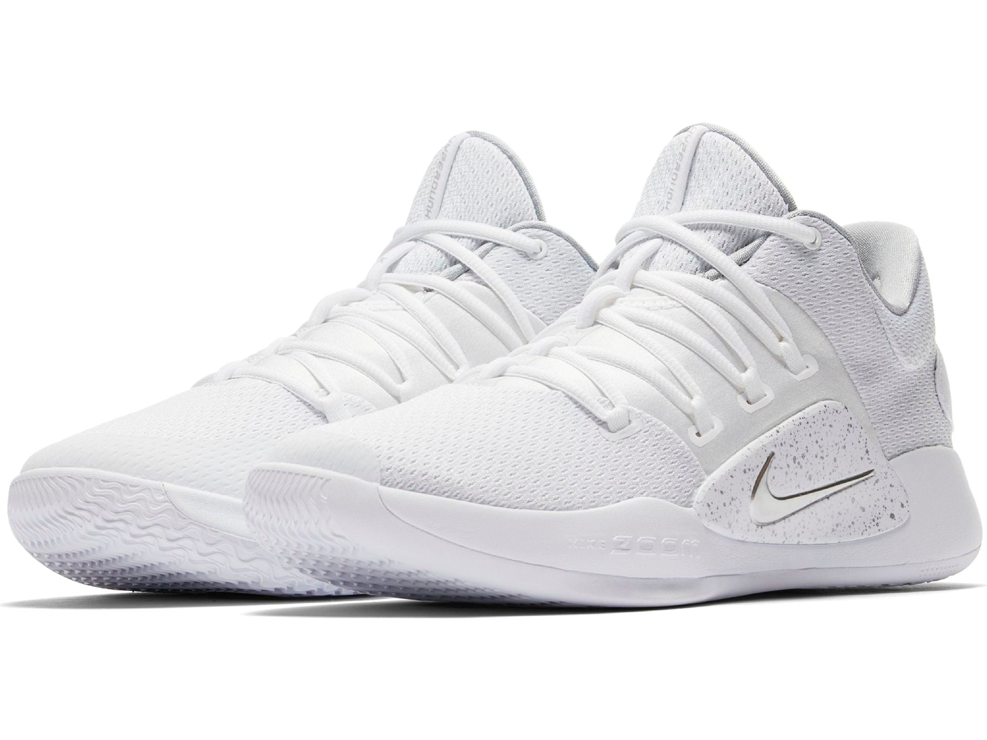 Nike Basketball Hyperdunk X Low Shoe - White/Pure Platinum/Clear
