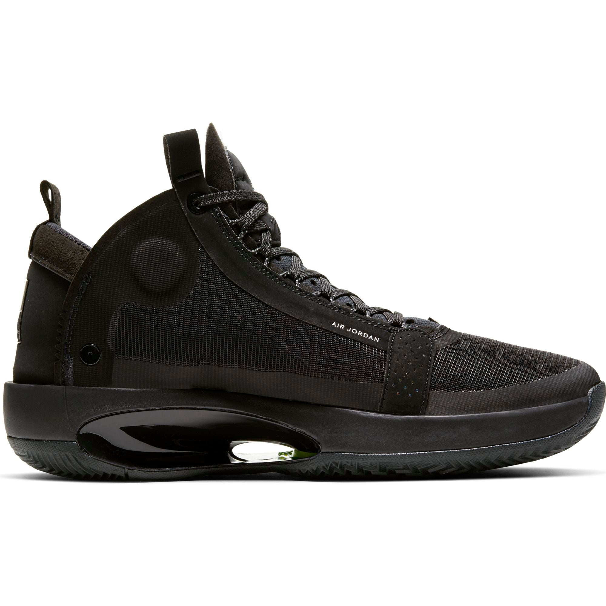 Nike Jordan Air XXXIV Basketball Boot/shoe - Black/Dark Smoke Grey/Electric Green