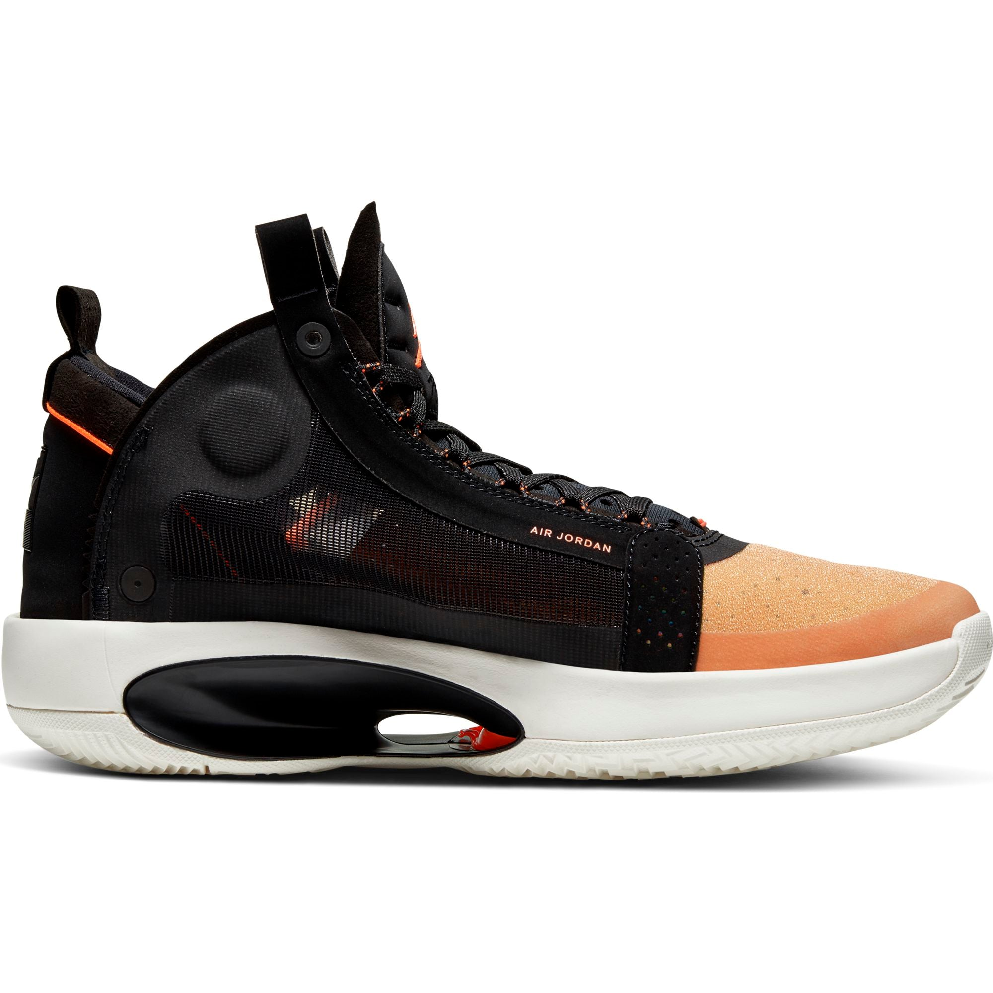 Nike Jordan Air XXXIV Basketball Boot/shoe - Amber Rise/Metallic Silver/Black/Sail