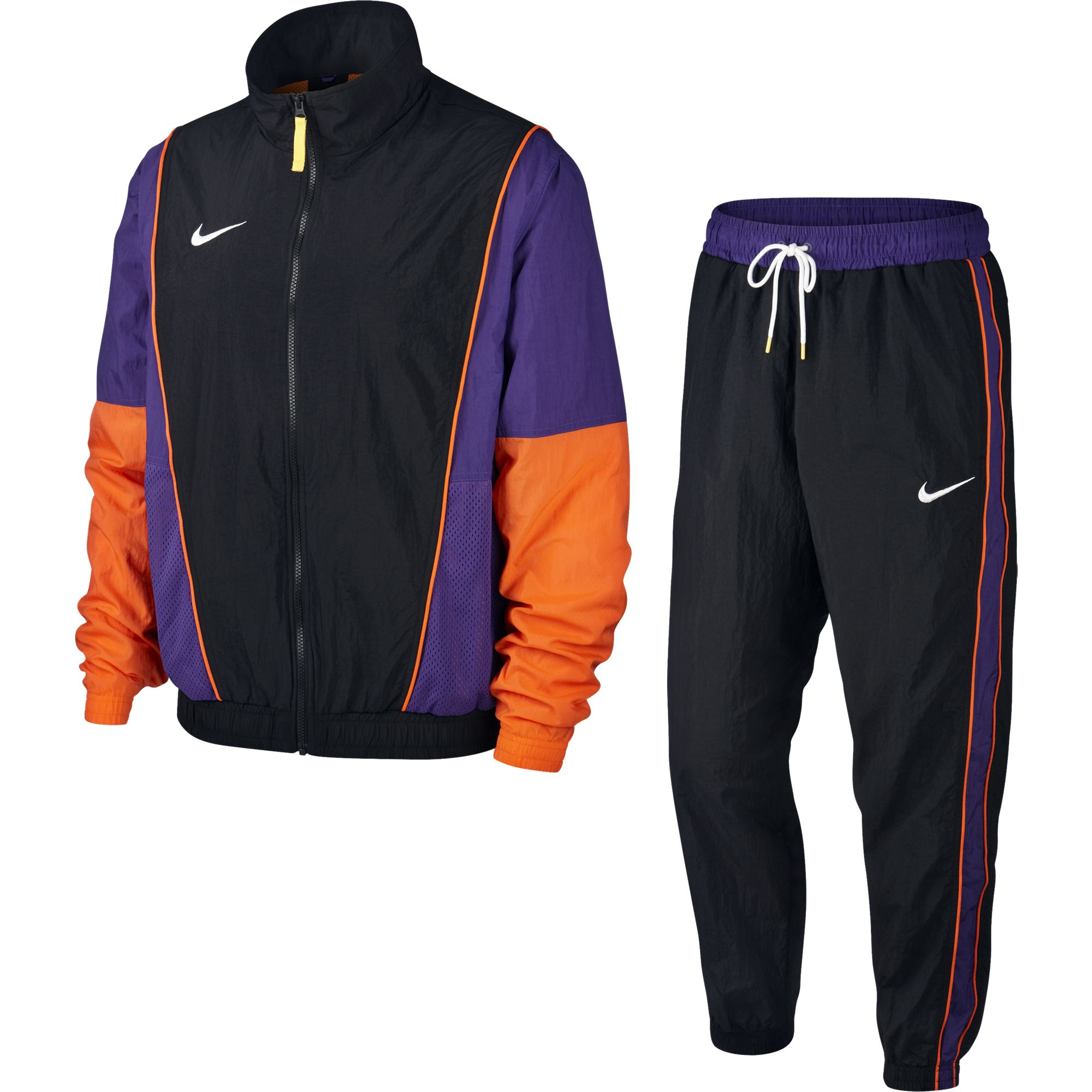 Nike Basketball Throwback Woven Tracksuit - NK-AR4083-011