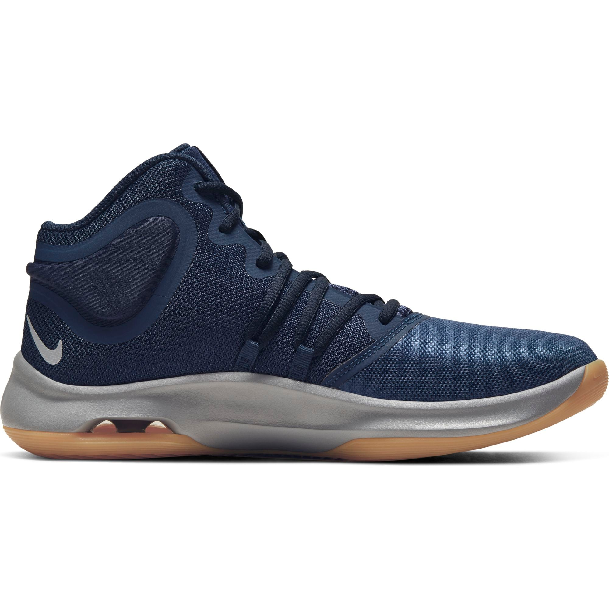 Nike Basketball Air Versitile IV Boot/Shoe - Midnight Navy/Metallic Silver/Obsidian