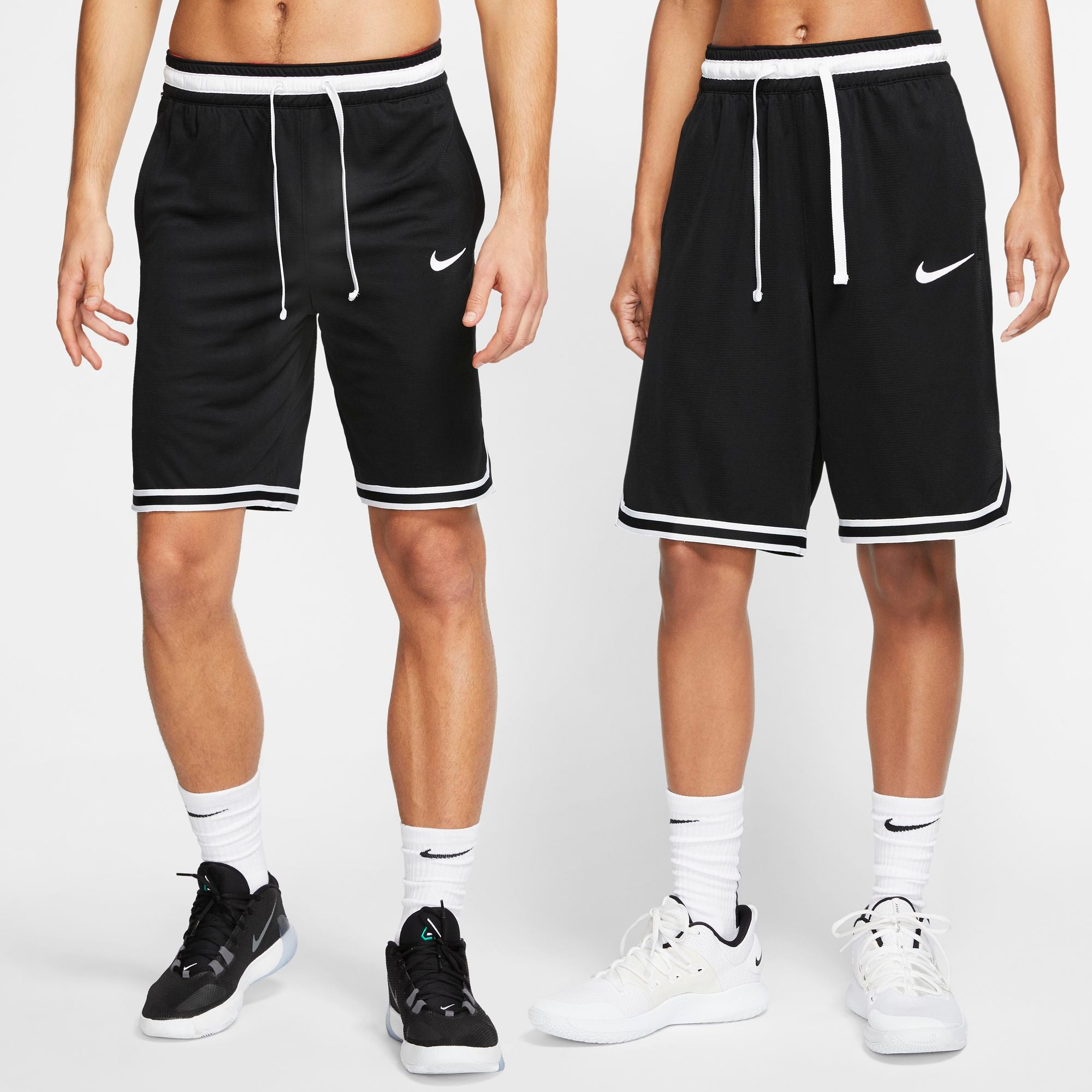 Nike Basketball Dri-fit DNA Shorts - Black/White
