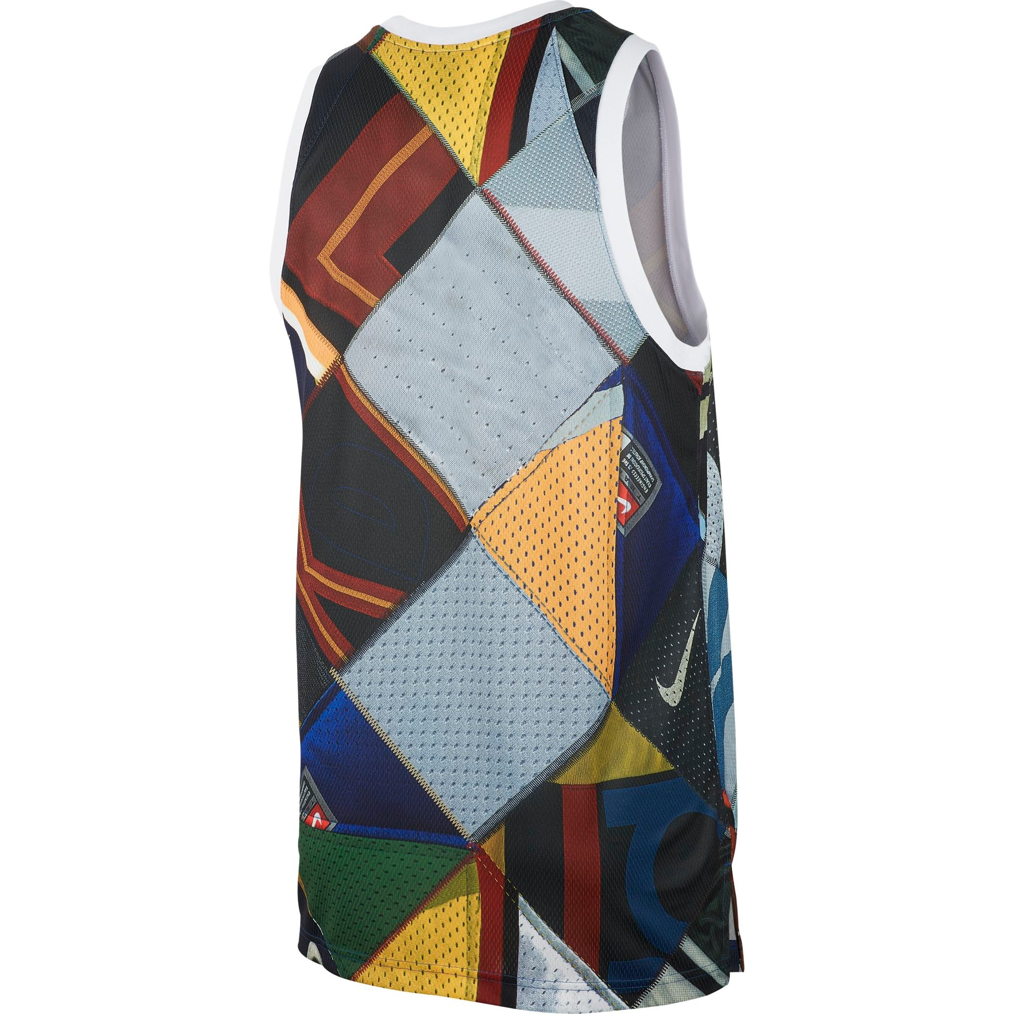 Nike KD Basketball Tank Top - Rush Blue/White