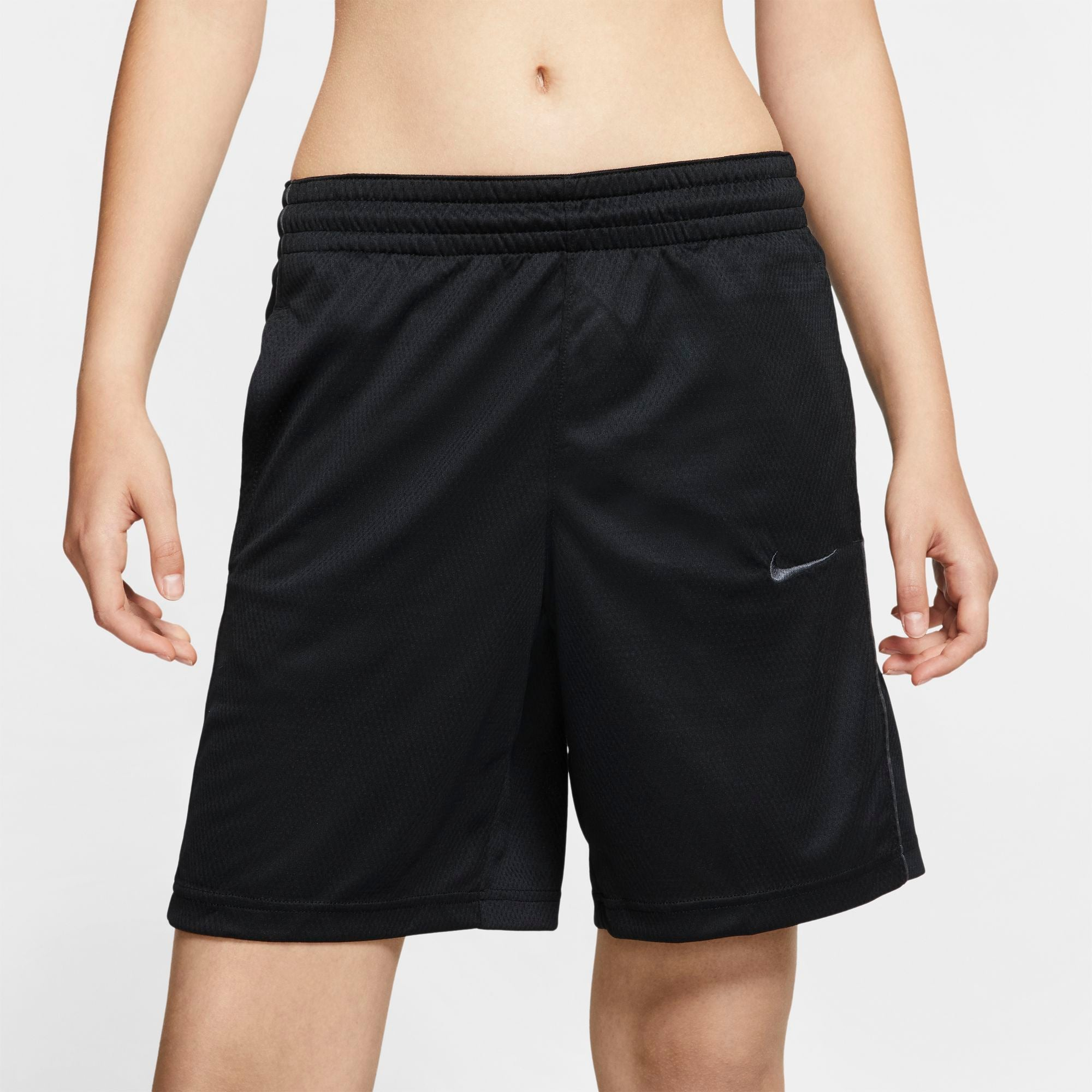 Nike Womens Basketball Dri-fit Shorts - Black/Anthracite