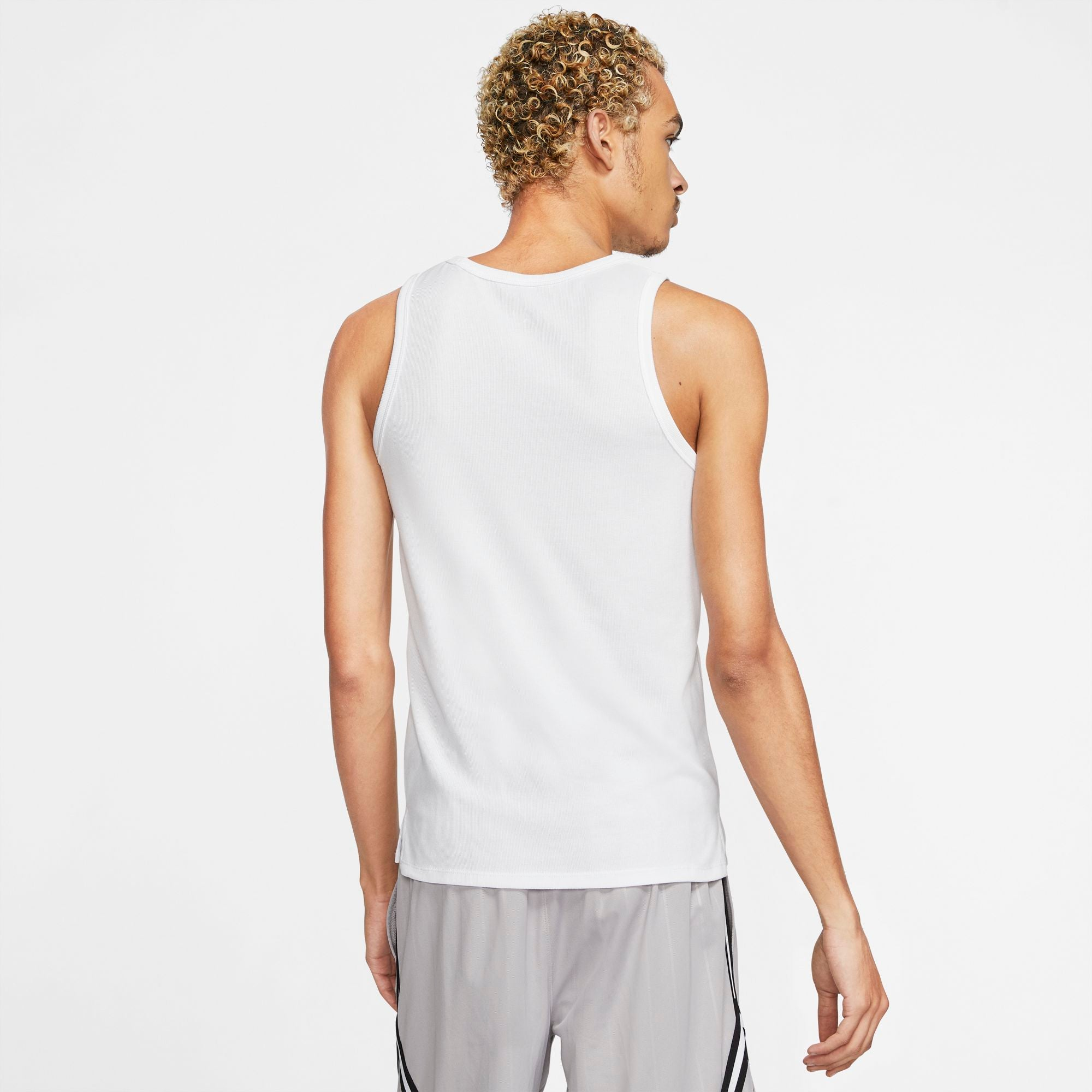 Nike Jordan 23 Alpha Buzzer Beater Basketball Tank - White/Black