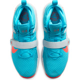 Nike Basketball Air Force Max II Basketball Boot/Shoe - Blue Fury/Bright Crimson/White
