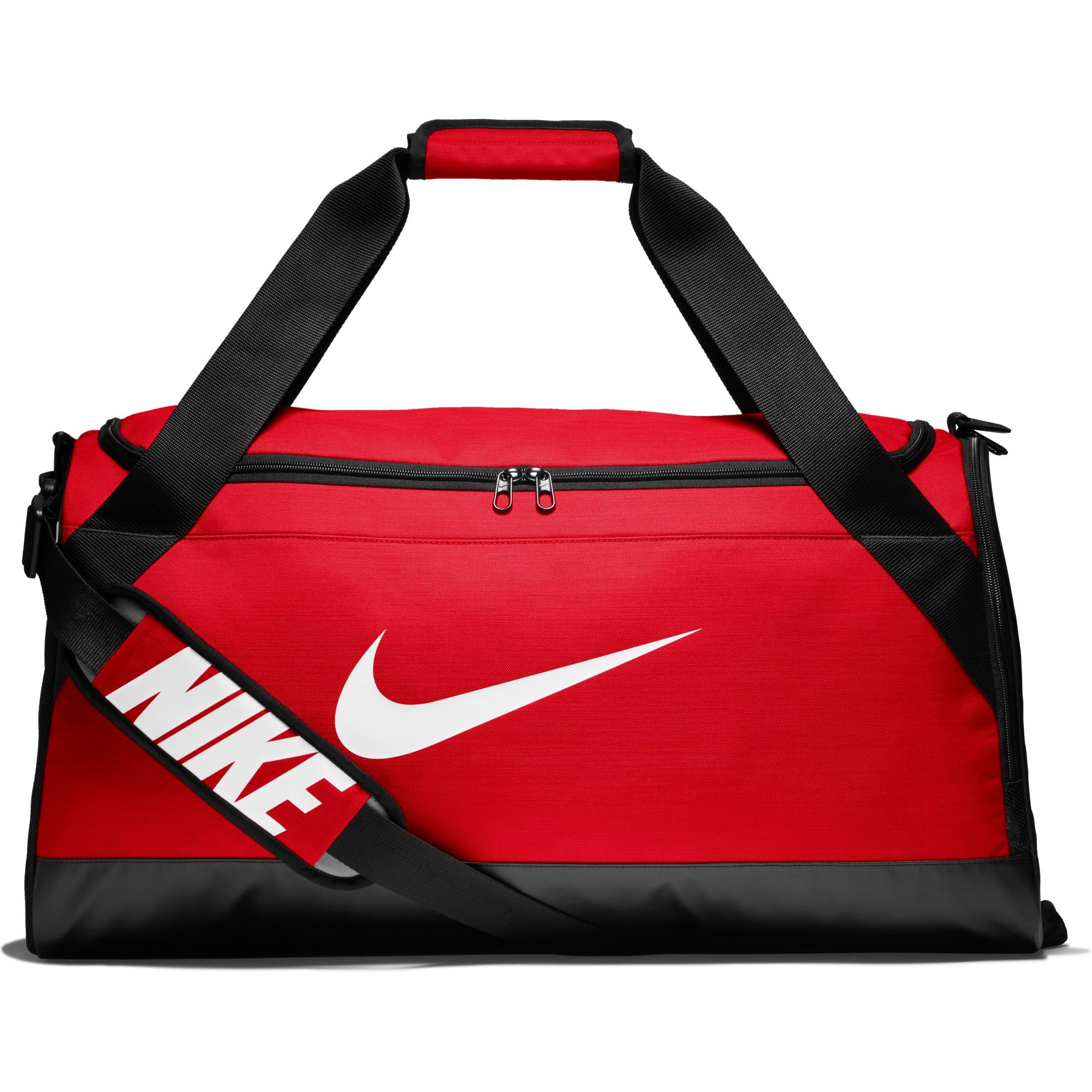 Nike Brasilia Training Duffel Bag (Medium) - University Red/Black/White