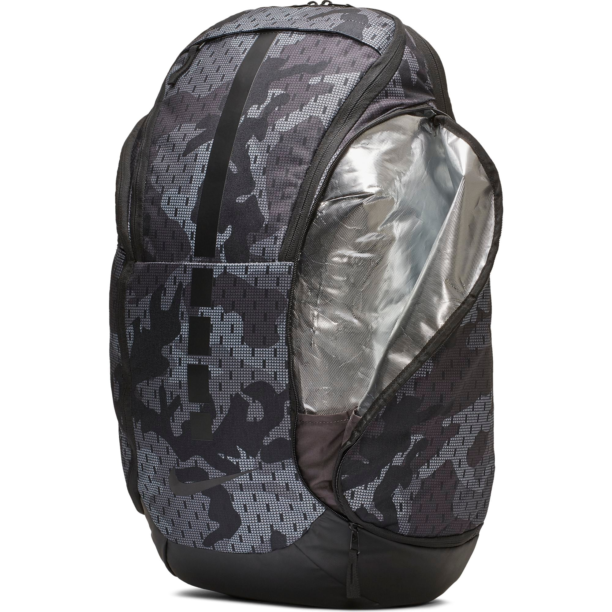 Nike Basketball Hoops Elite Pro Backpack - Thunder Grey/Gunsmoke/Black