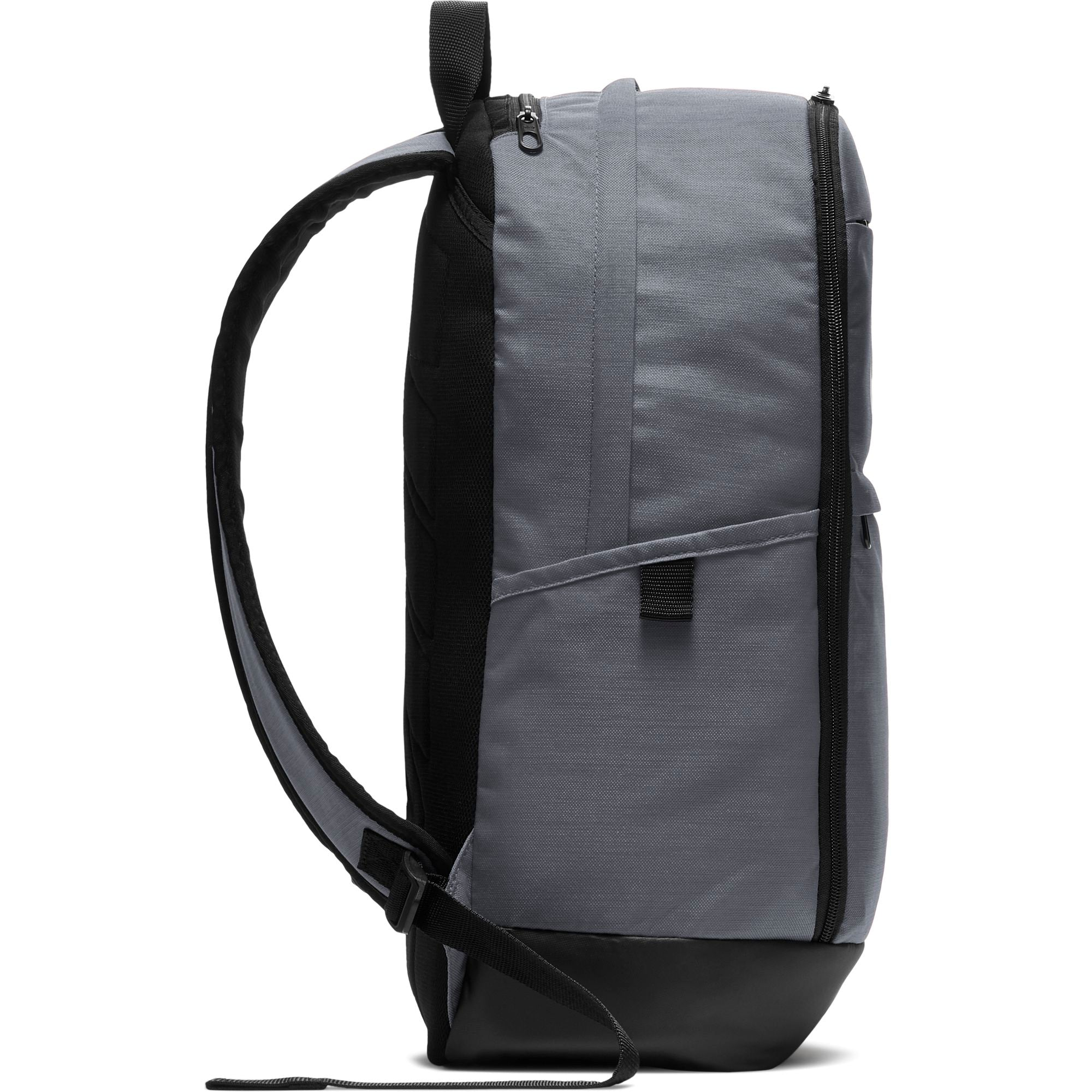 Nike Brasilia Backpack (Large) - Flint Grey/Black/White