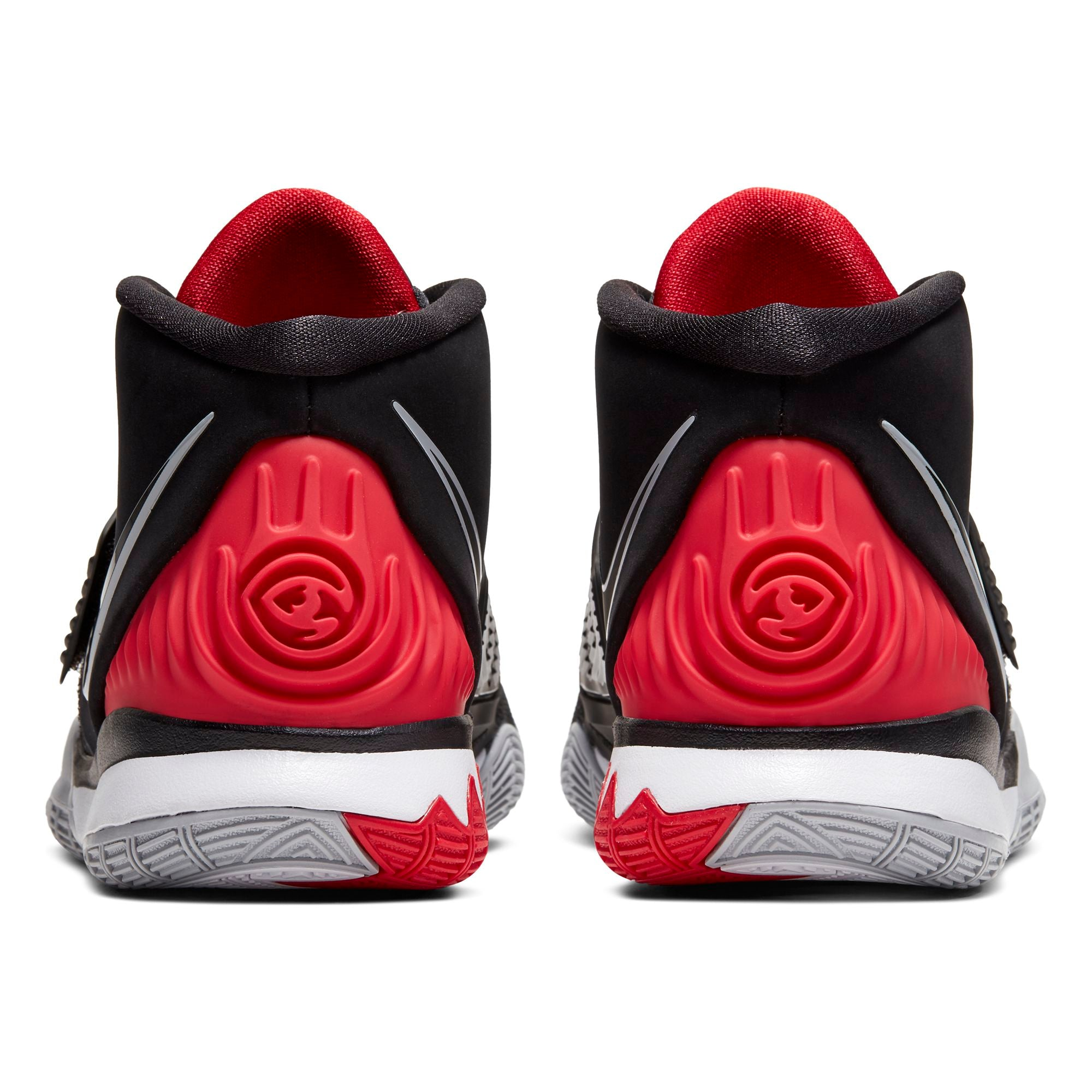 Nike Kids Kyrie 6 Basketball Boot/Shoe - Black/University Red/White