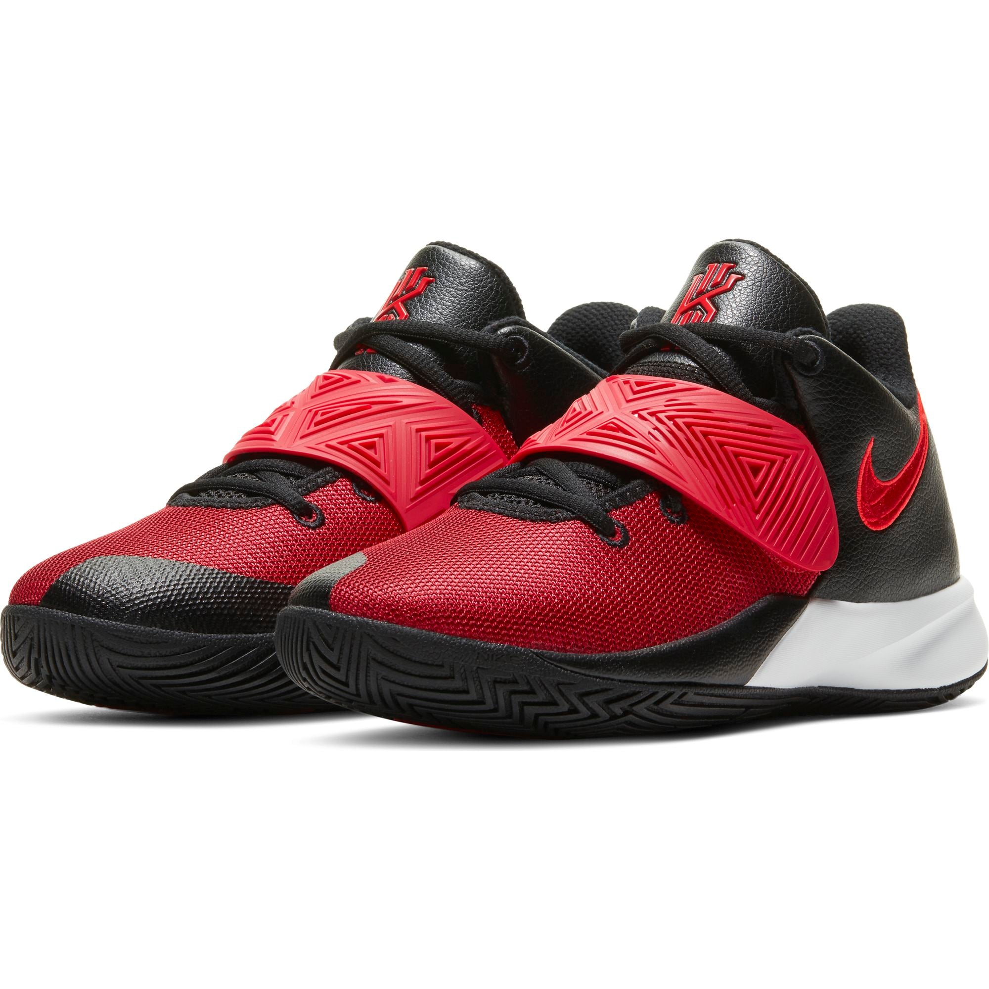 Nike Kids Kyrie Flytrap 3 Basketball Boot/Shoe - Black/University Red/Bright Crimson