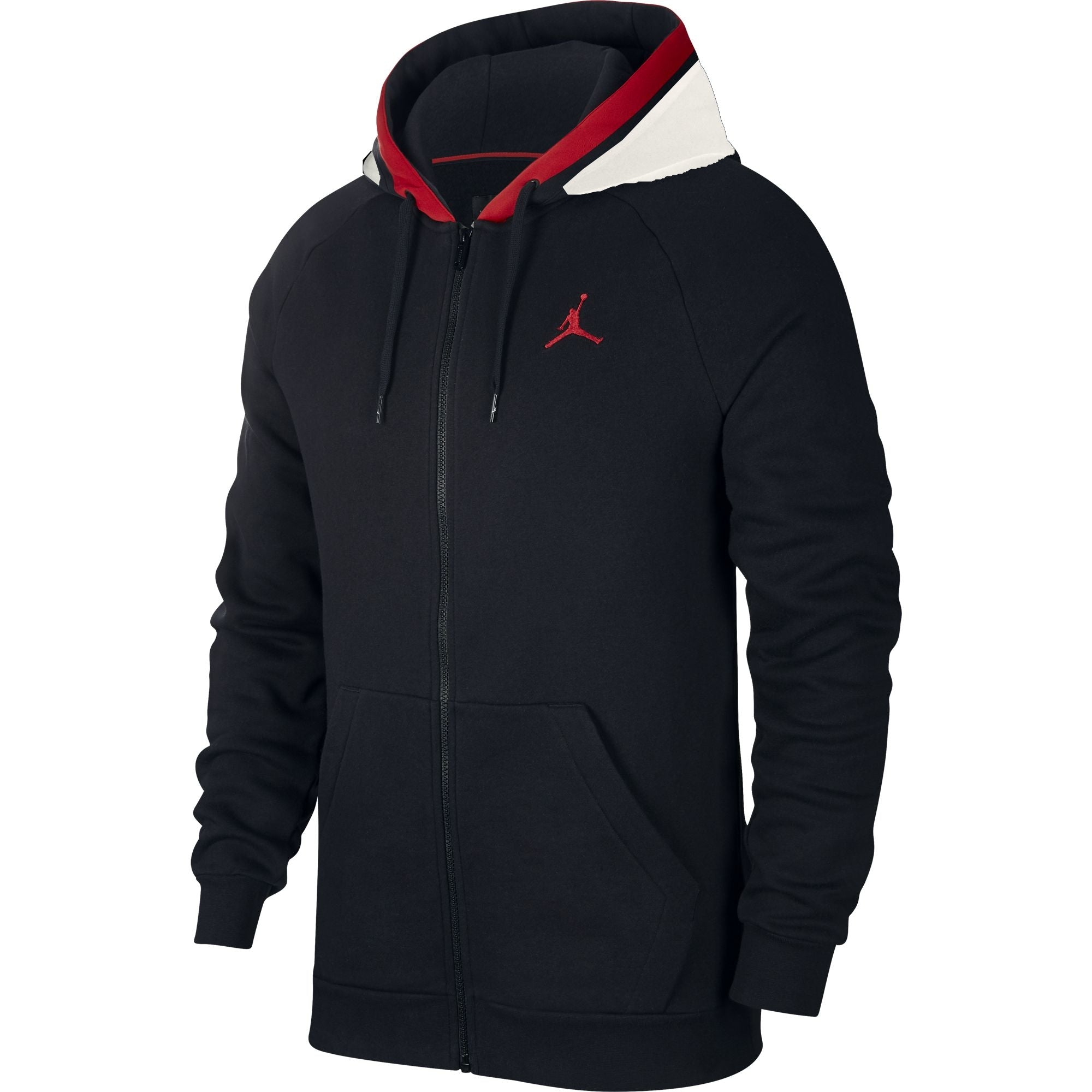 Nike Jordan Air Full-Zip Fleece Hoodie - NK-BQ5649-010