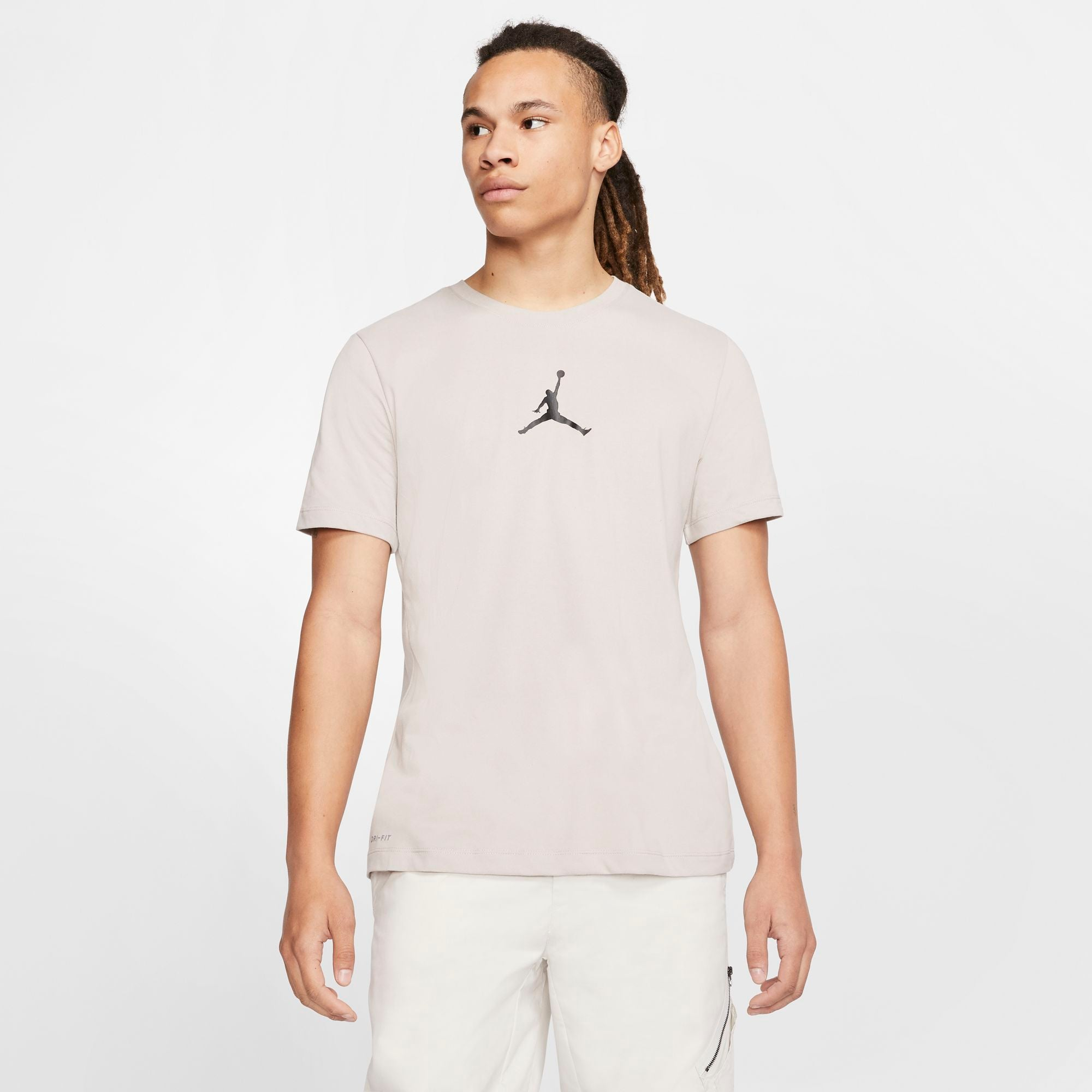 Nike Jordan Jumpman Tee - Moon Particle/Black