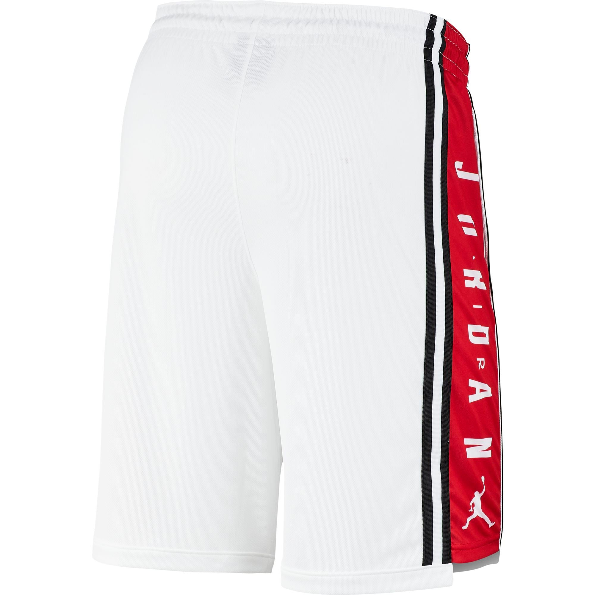 Nike Jordan HBR Basketball Shorts - White/Gym Red/Black