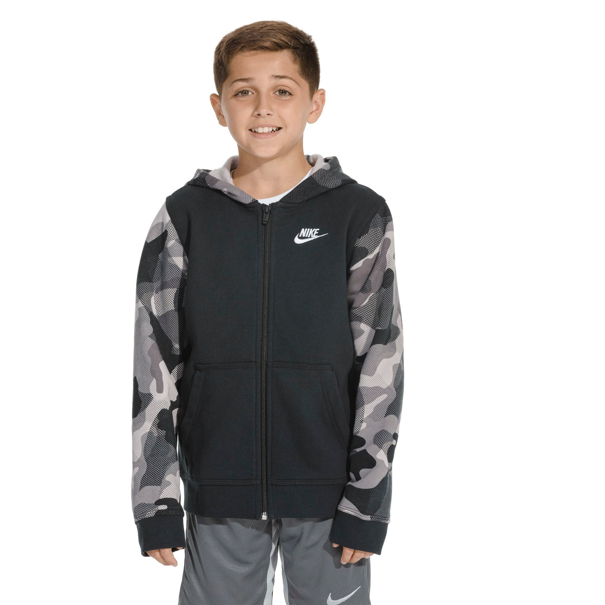 Nike Kids Sportswear Club - Black/White