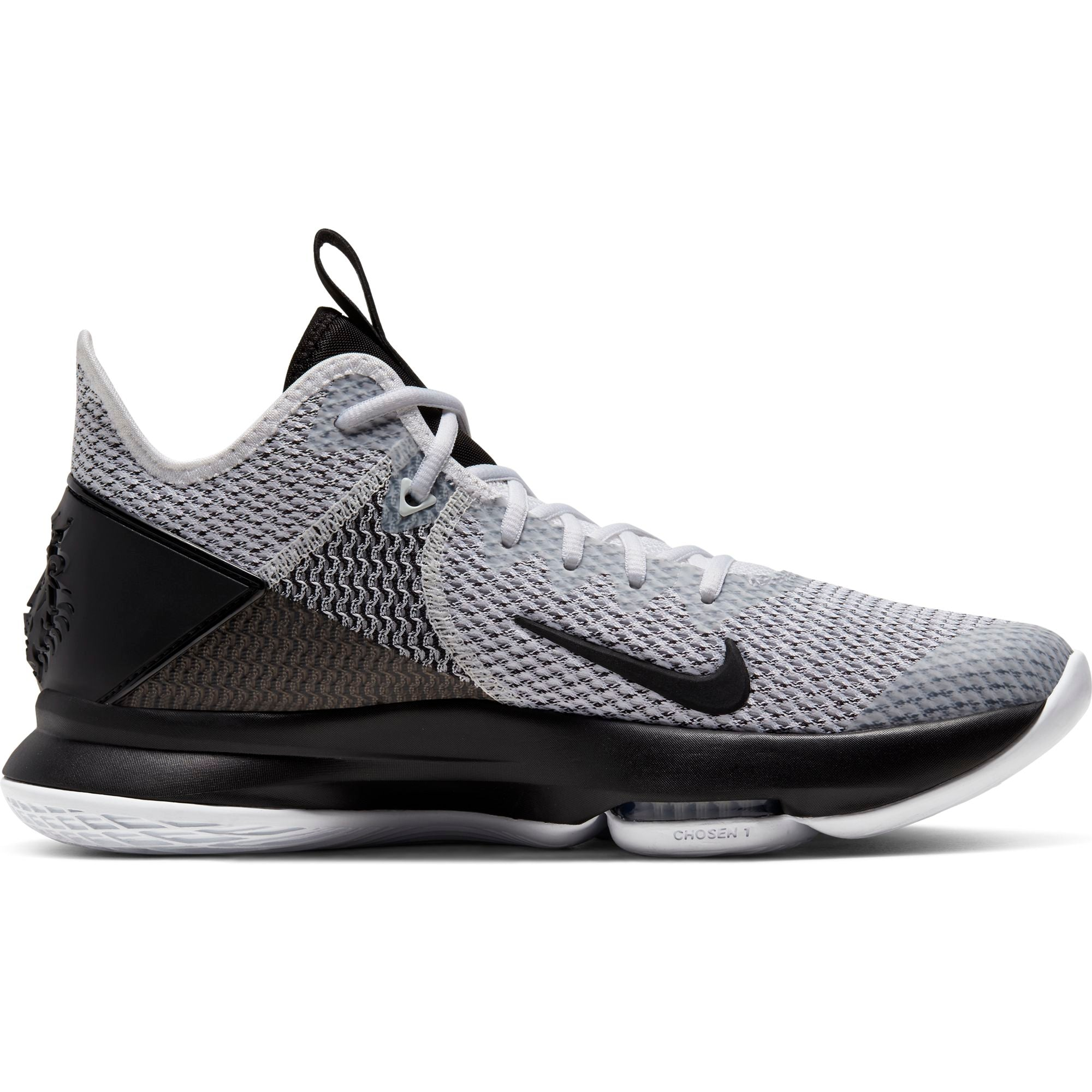 Nike Lebron Witness 4 Basketball Boot/shoe - White/Black