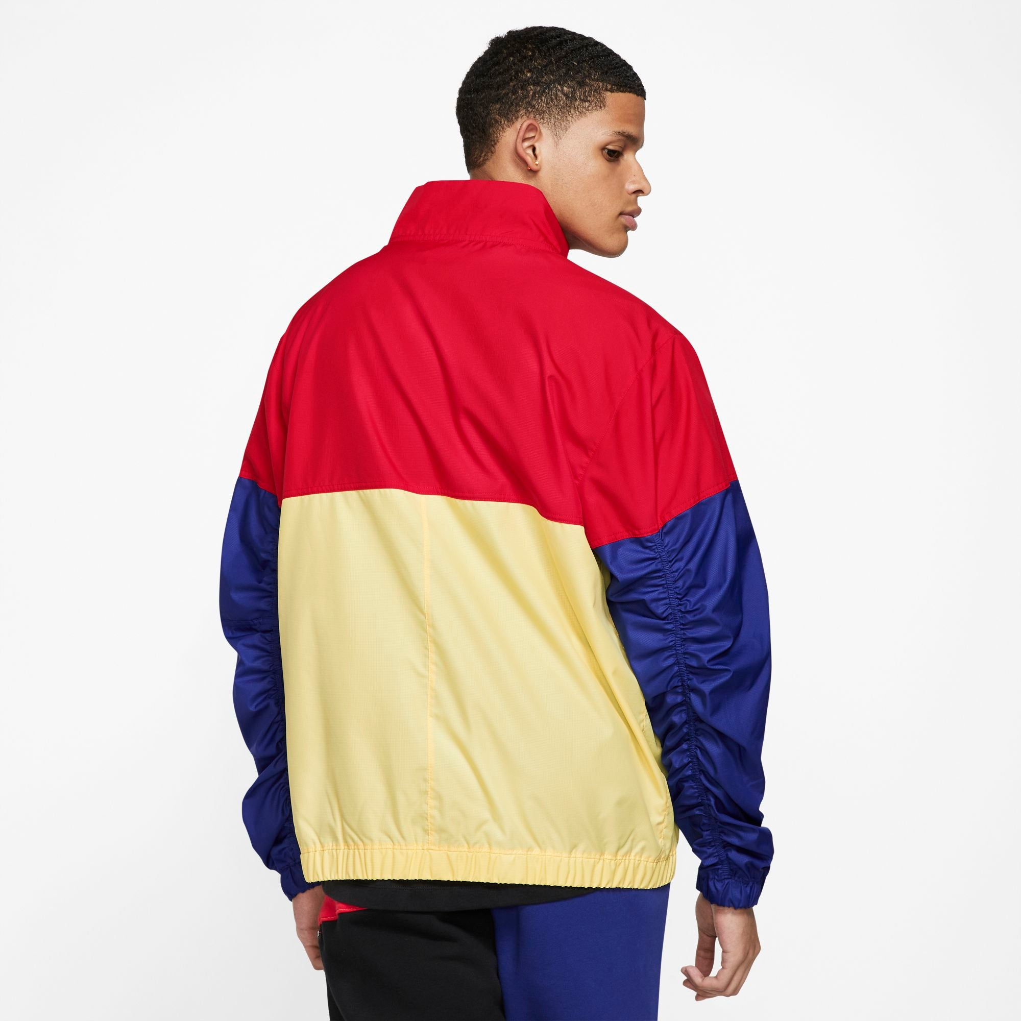 Nike Kyrie Lightweight Basketball Jacket - Deep Royal Blue/Bicycle Yellow/Black