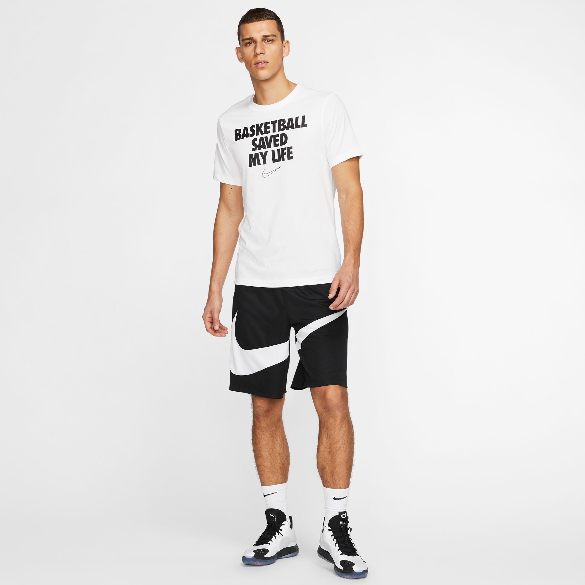 Nike Basketball Dri-Fit HBR Shorts - Black/White