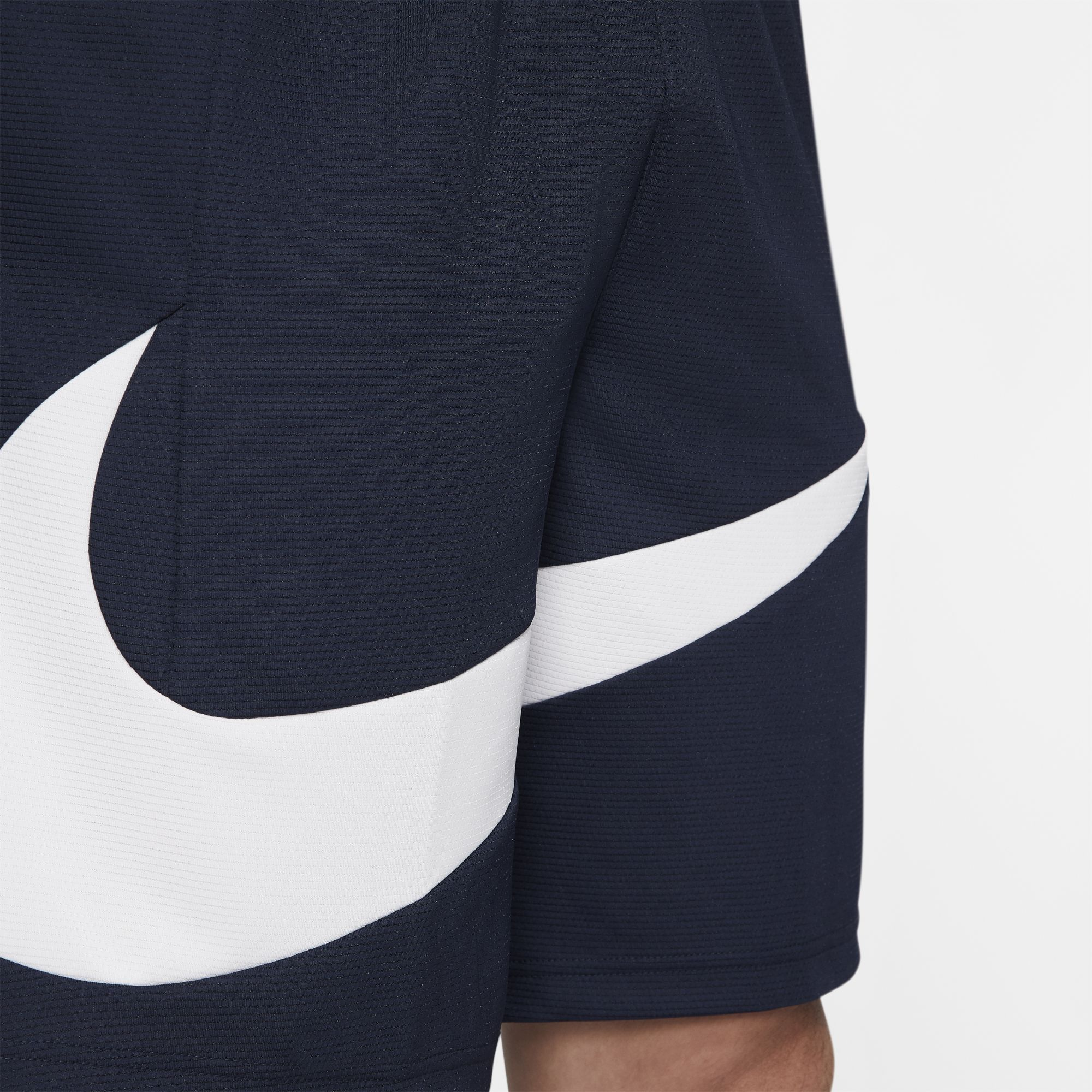 Nike Basketball Dri-Fit HBR Shorts - Obsidian/White