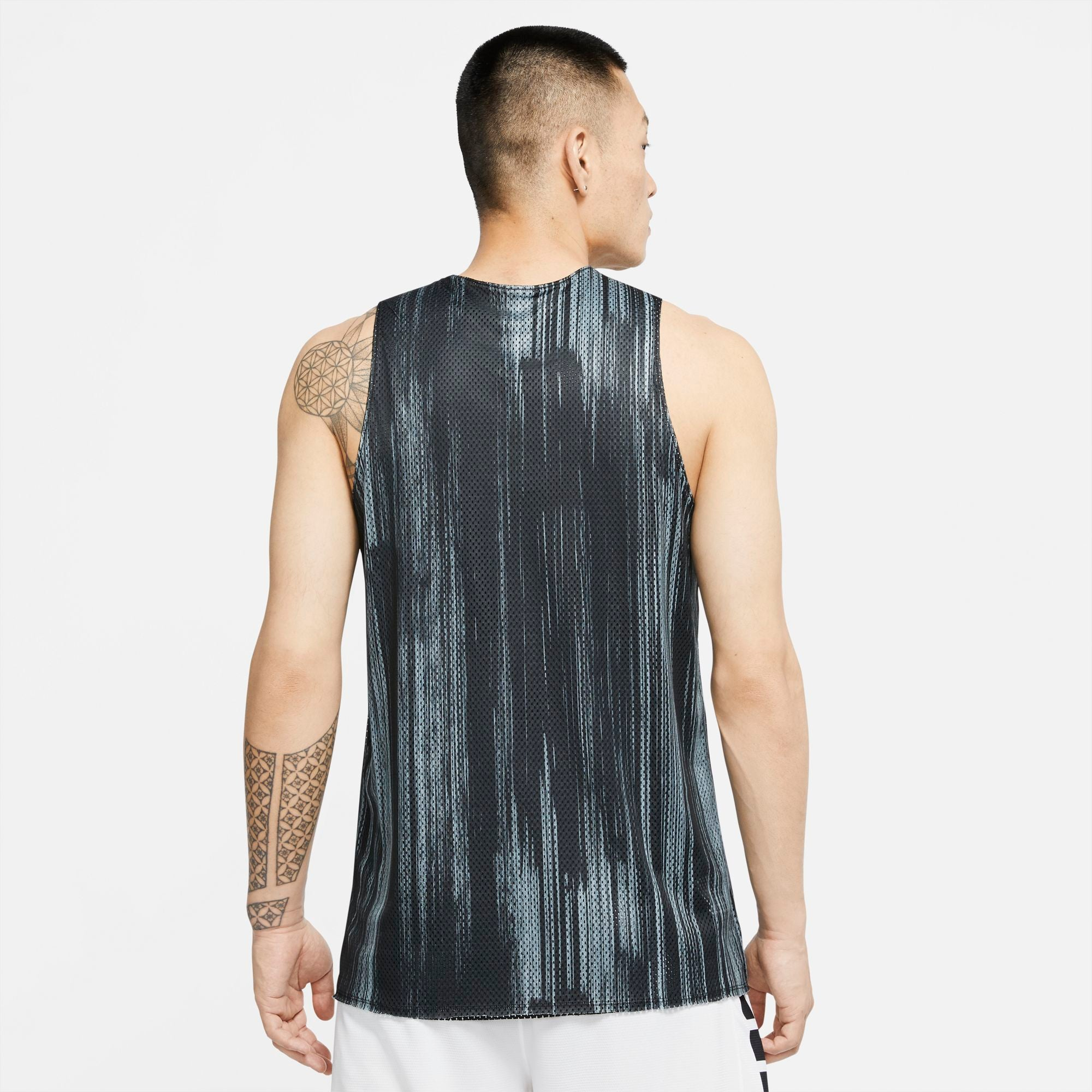 Nike KD Dri-fit Reversible Basketball Jersey - Black/White