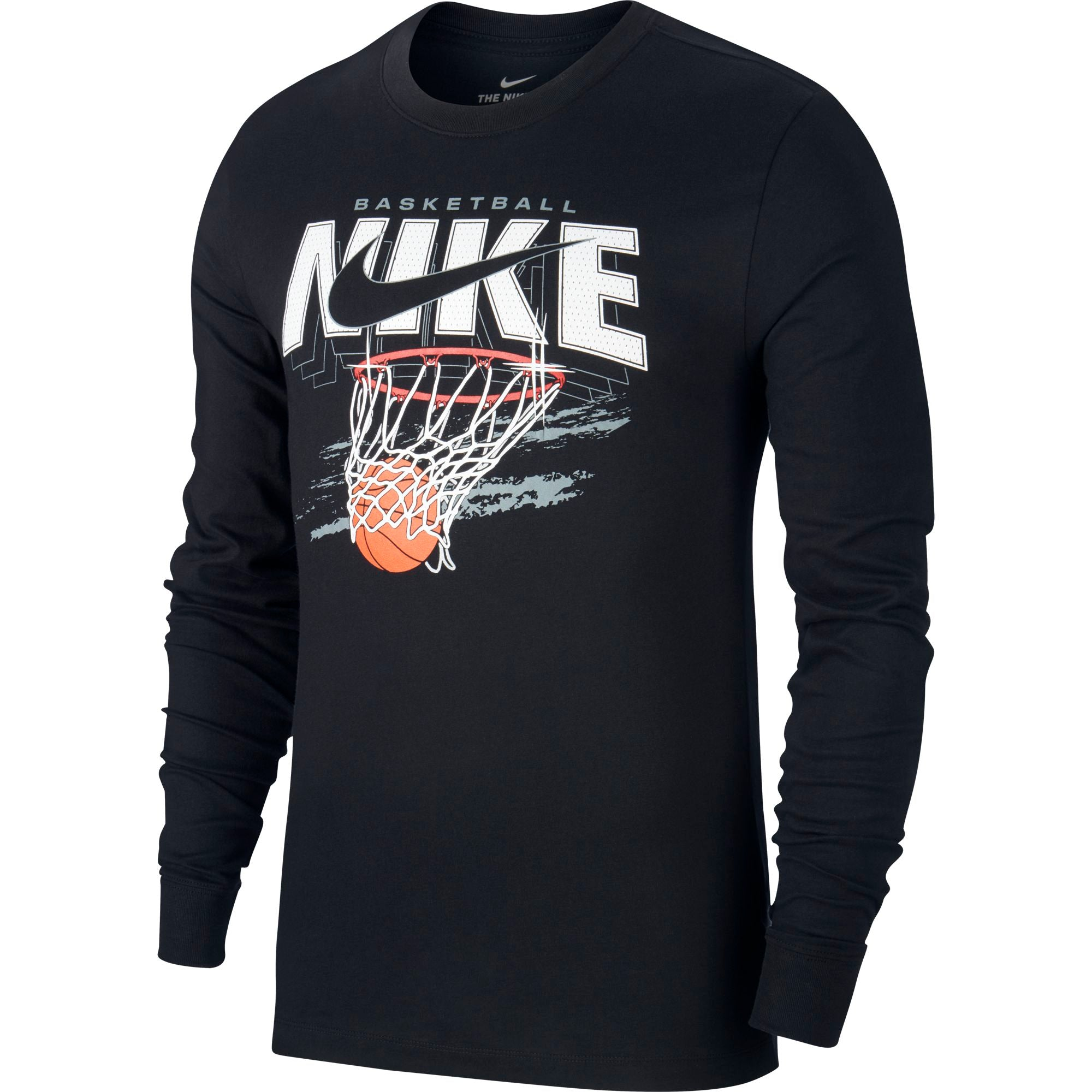 "Nike Basketball Dri-fit Long-Sleeved ""SWISH"" Tee - NK-CD0943-010"