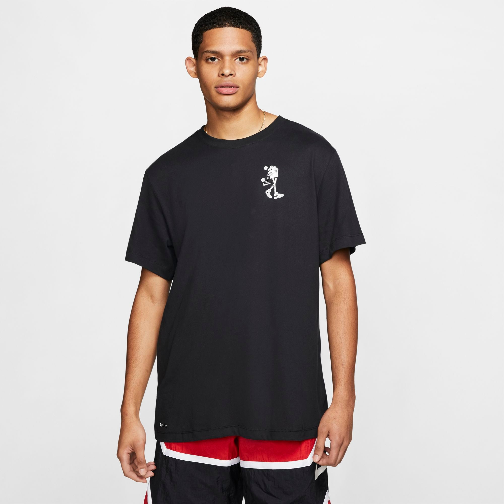 Nike Basketball Dri-fit Just Buckets Tee - Black