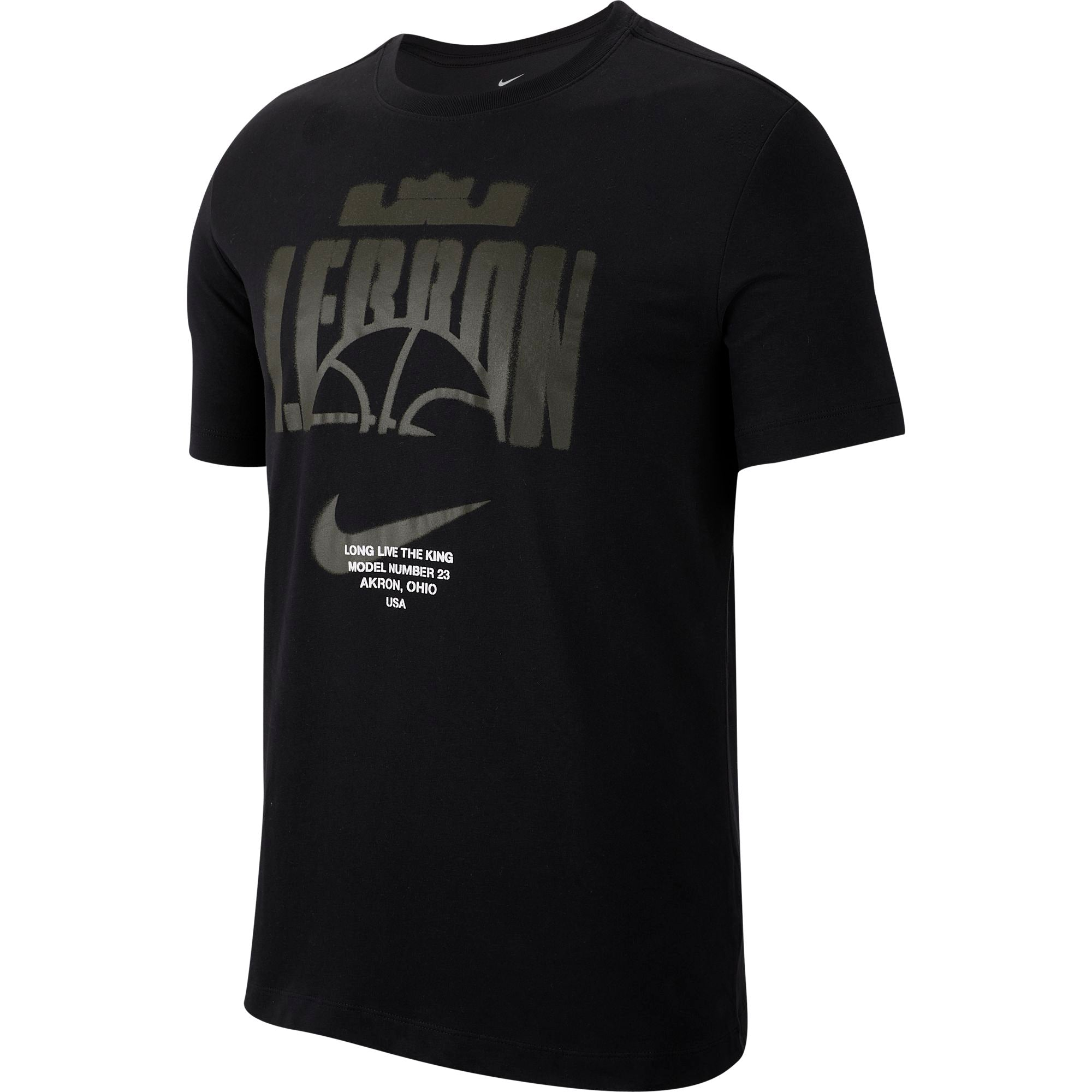 Nike Lebron Dri-fit Long-Live The King Basketball Tee - NK-CD0969-010