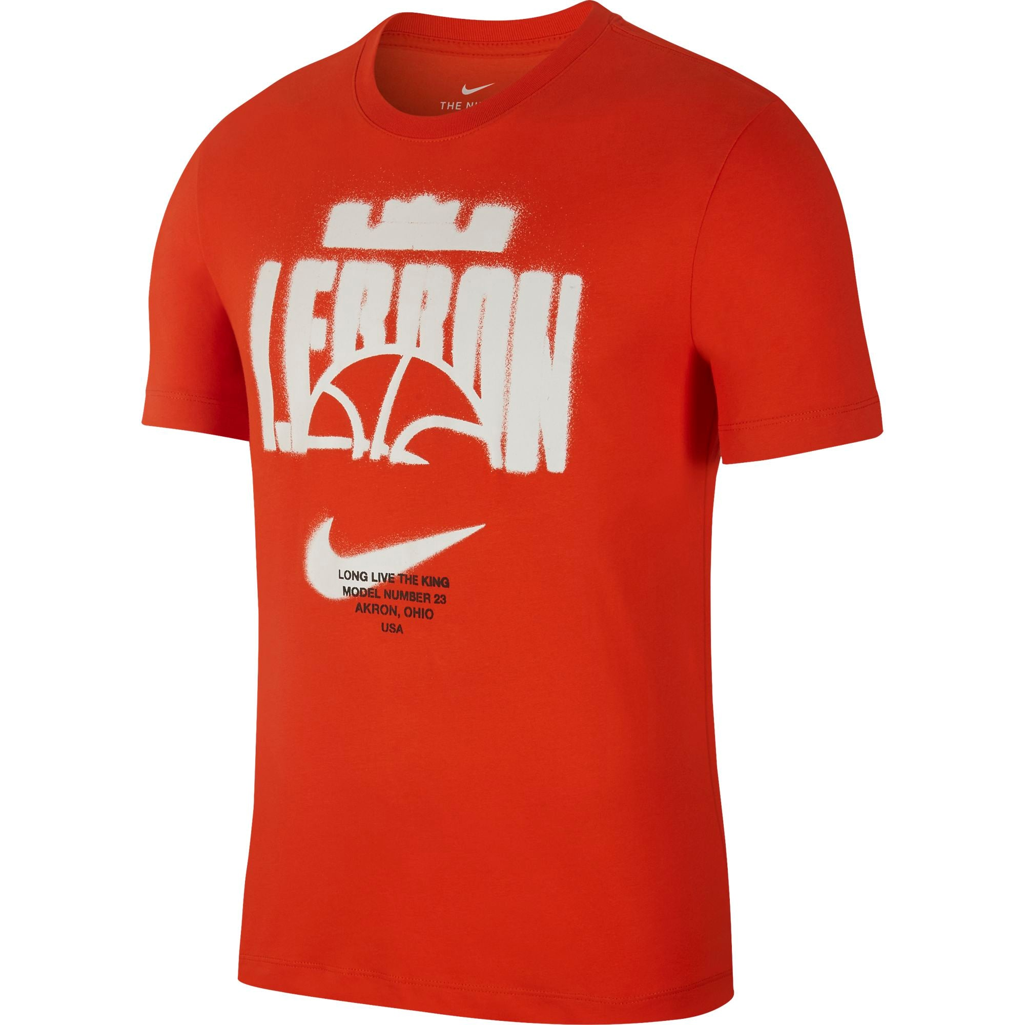 Nike Lebron Dri-fit Long-Live The King Basketball Tee - NK-CD0969-891