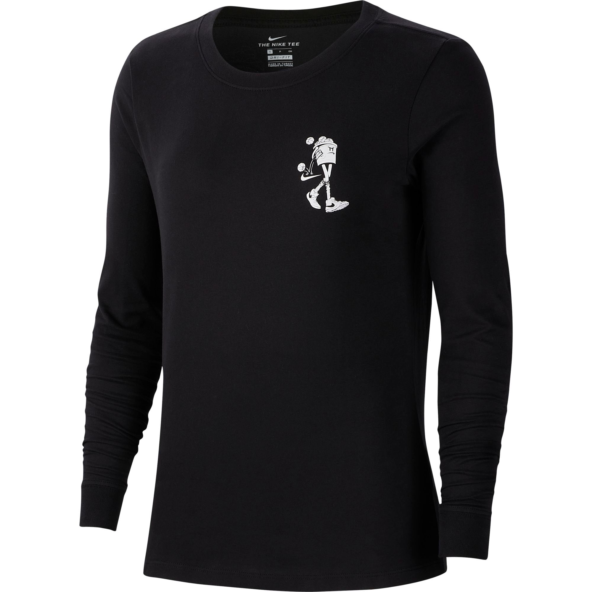 Nike Womens Basketball Dri-fit Long-Sleeved Tee - NK-CD0979-010