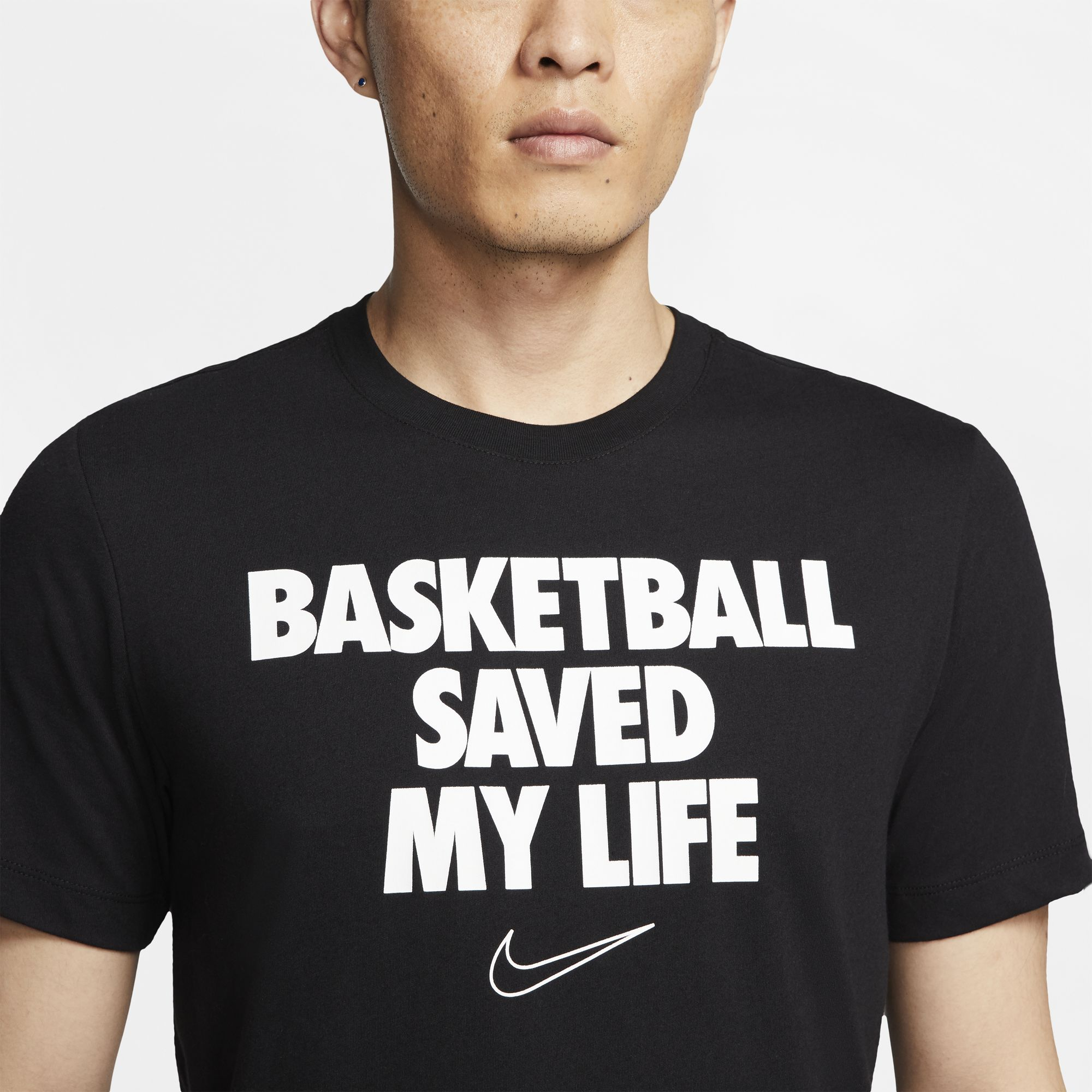 "Nike Basketball Dri-Fit ""My Life"" Tee - Black"