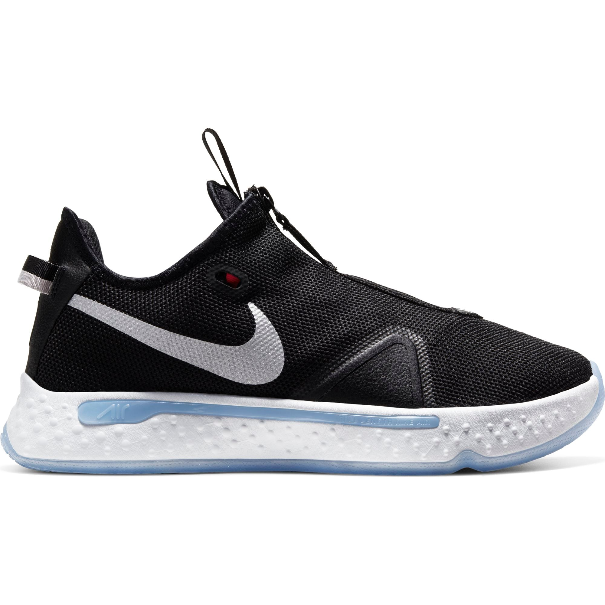 Nike PG 4 Basketball Shoe - Black/White/Light Smoke Grey