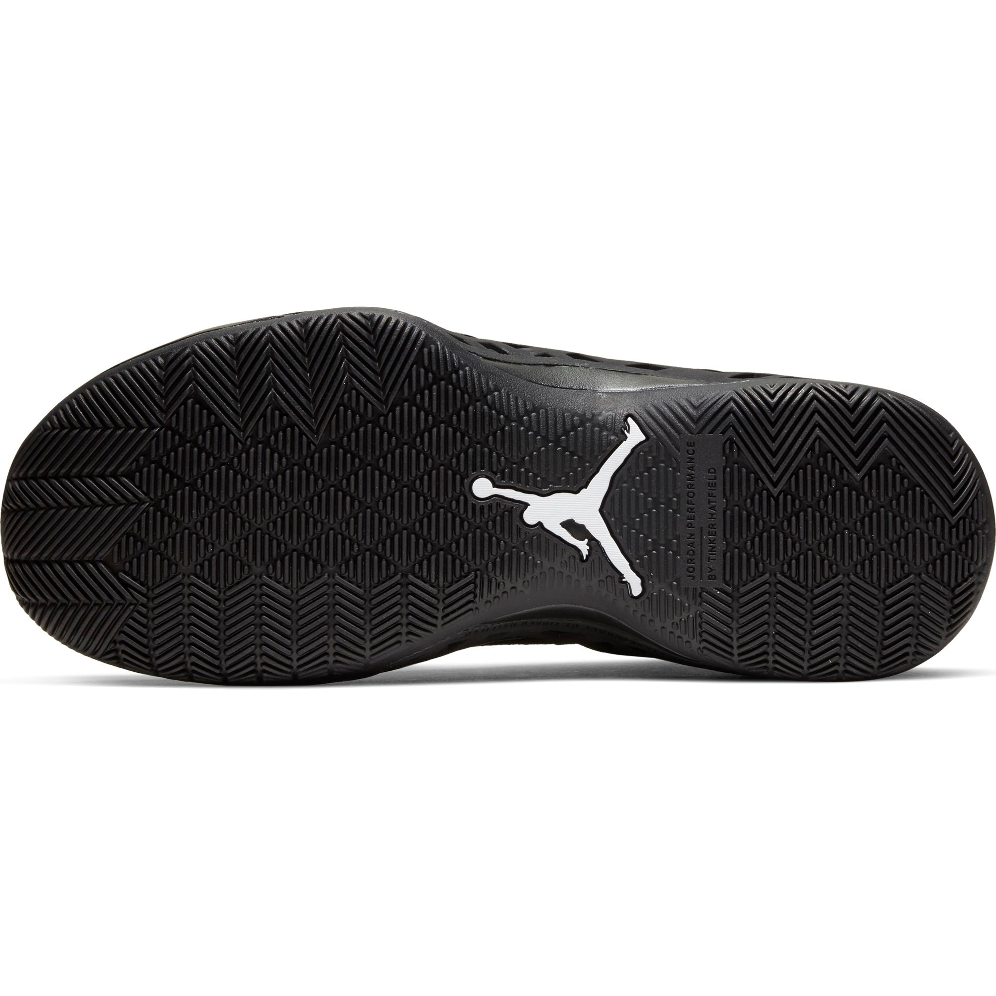 Nike Jordan Jumpman Diamond Low Basketball Shoe - Black/White