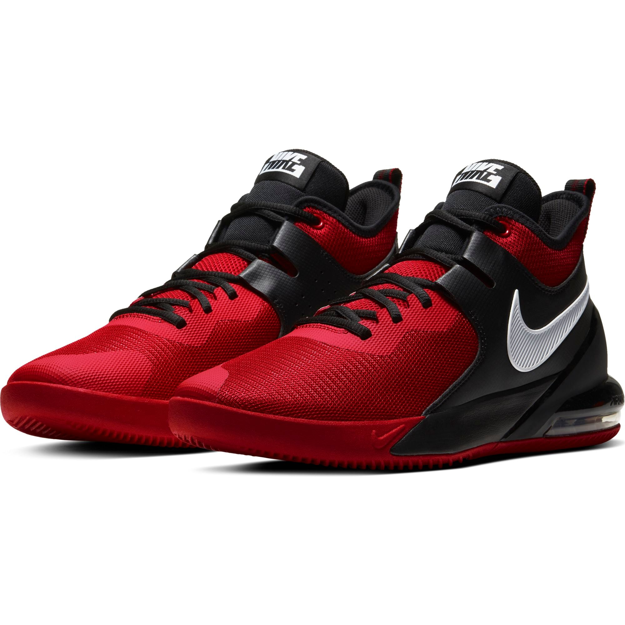 Nike Basketball Air Max Impact Basketball Boot/Shoe - University Red/White/Black