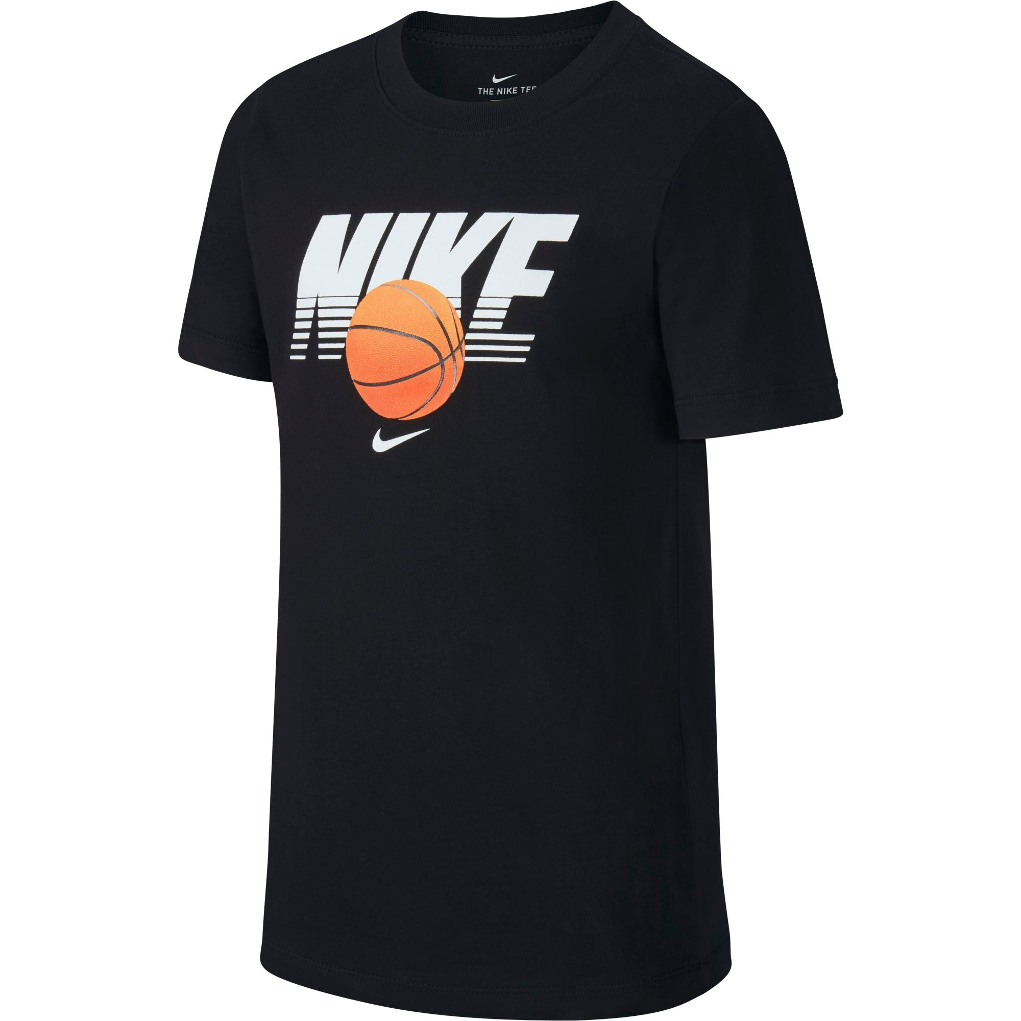 Nike Kids Straight Baller Textured Graphic Tee - NK-CI9610-010