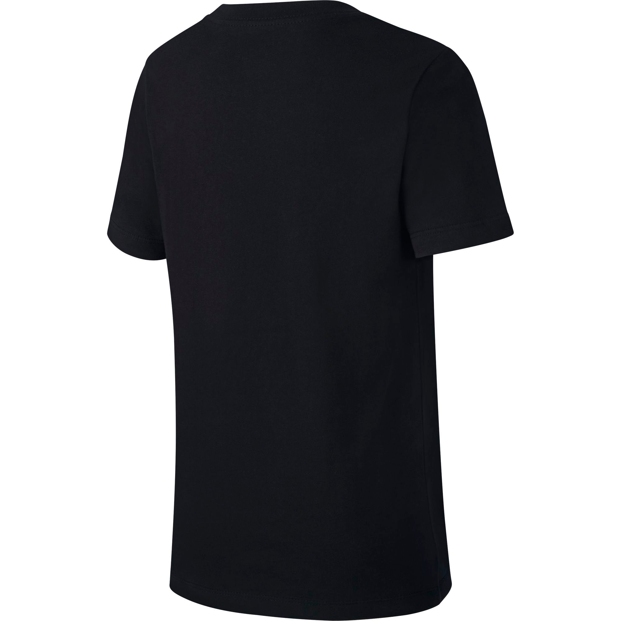 Nike Kids Straight Baller Textured Graphic Tee - Black/White